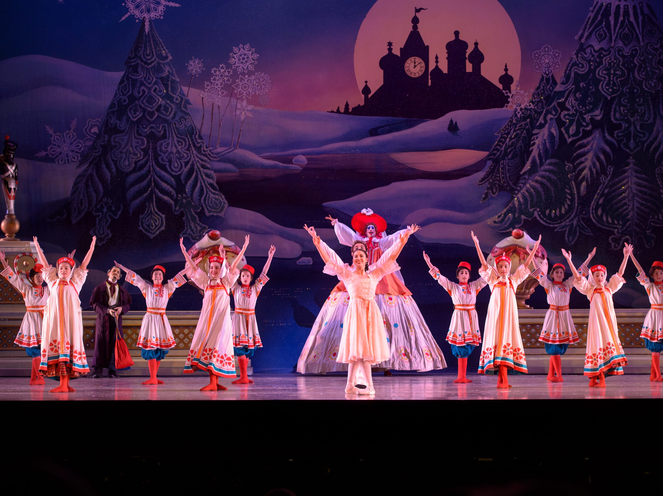 "The company dances in Milwaukee Ballet's ""Nutcracker"" through Dec. 26 at the Marcus Center."