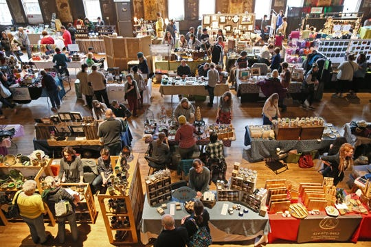 More than 50 artisans and other creative types will fill Turner Hall Ballroom with their gift-able wares Sunday at the Cream City Creatives Holiday Craft Fair.