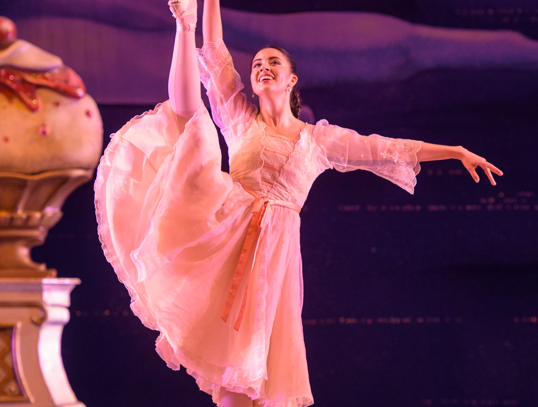 "Alana Griffith dances in Milwaukee Ballet's ""Nutcracker"" through Dec. 26 at the Marcus Center."