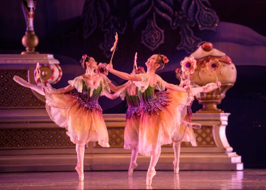 "The Milwaukee Ballet's production of ""The Nutcracker"" runs through Wednesday at the Marcus Center."