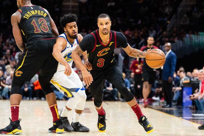 In coming to the Bucks, George Hill is joining his sixth team in 11 seasons.