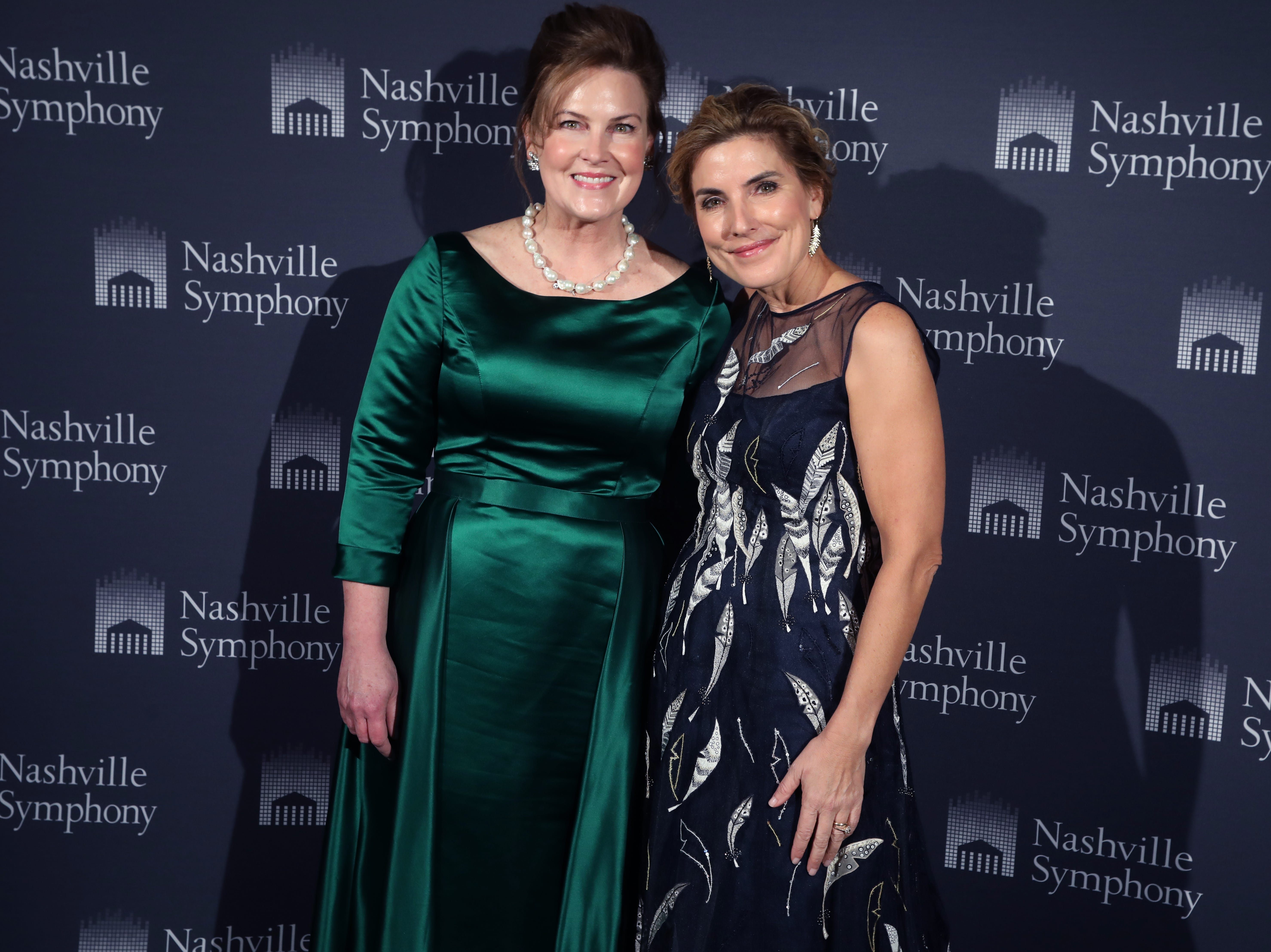 Chairmen Laurie Seabury and Katie Crumbo at the 34th annual Symphony Ball on Saturday, December 8, 2018, at Schermerhorn Symphony Center.