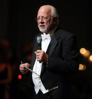 Alan Valentine speaks at the 34th annual Symphony Ball on Saturday, December 8, 2018, at Schermerhorn Symphony Center.