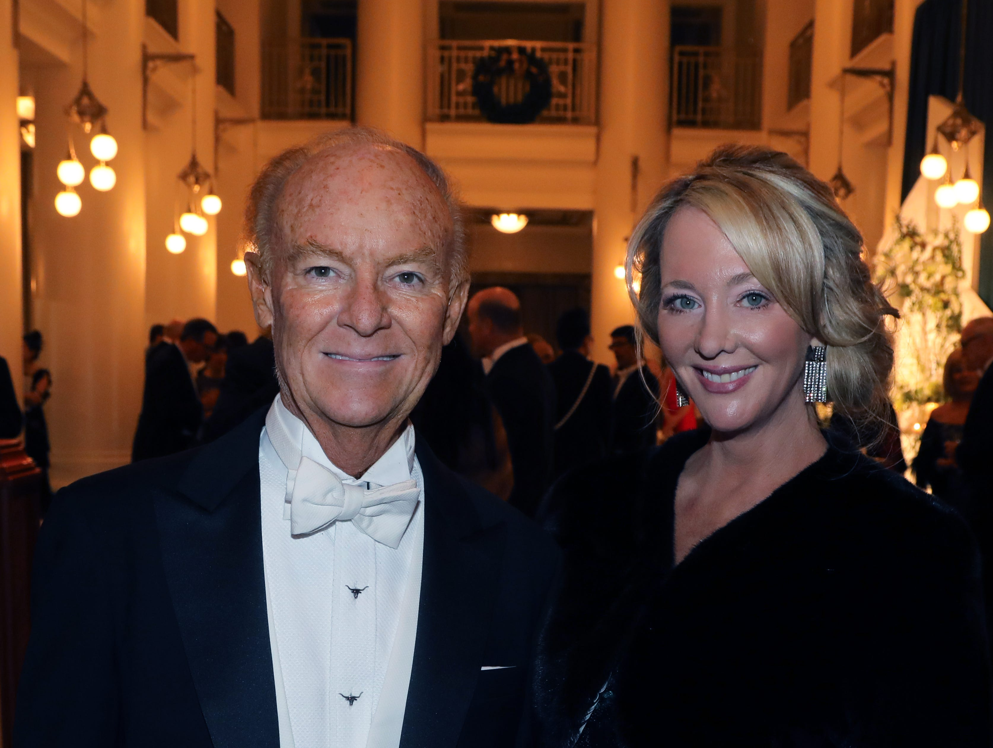Emily and Mark Humphreys at the 34th annual Symphony Ball on Saturday, December 8, 2018, at Schermerhorn Symphony Center.