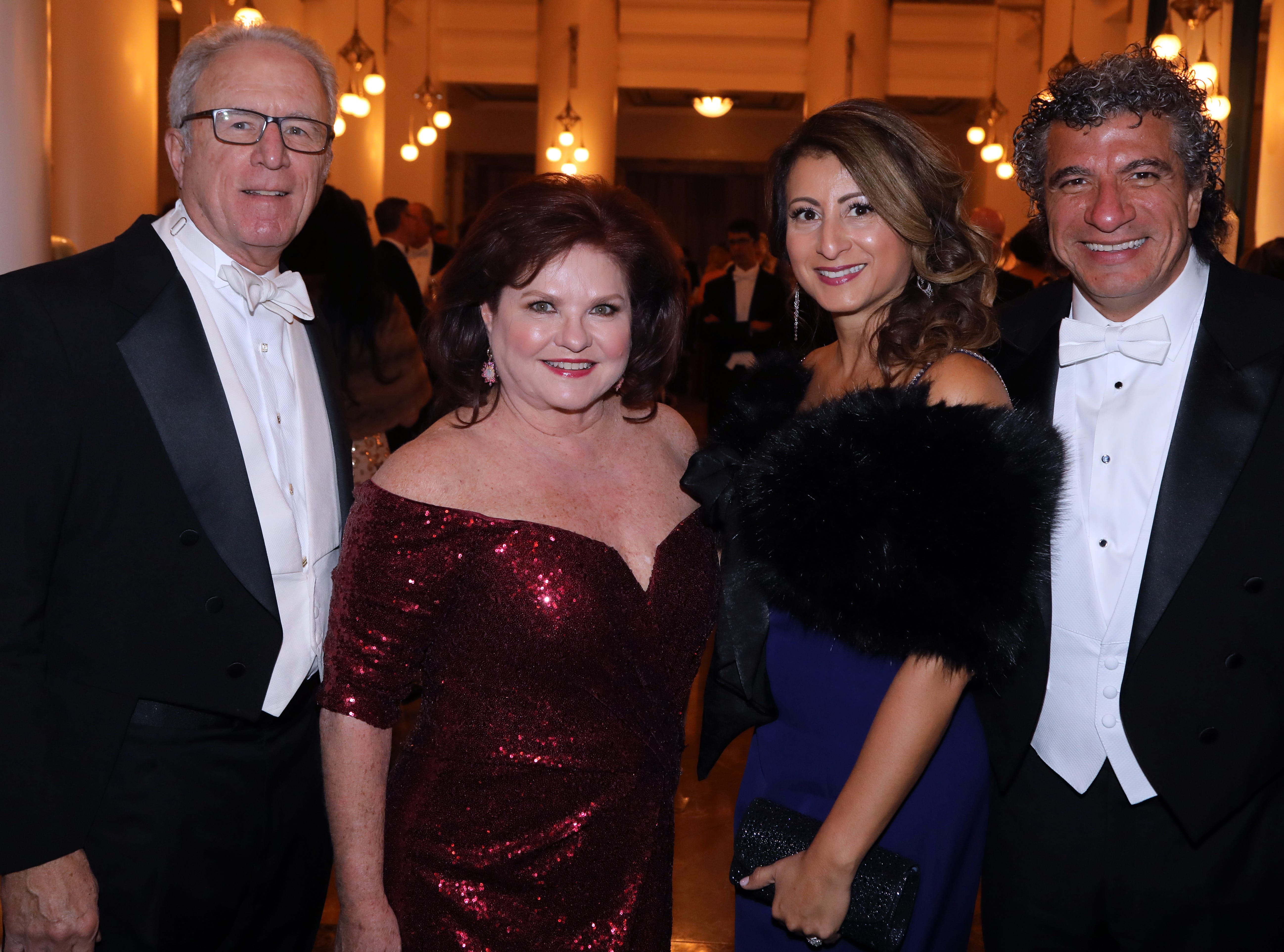 Rick and Vicki Horne and Giancarlo and Shirley Guerreroat the 34th annual Symphony Ball on Saturday, December 8, 2018, at Schermerhorn Symphony Center.