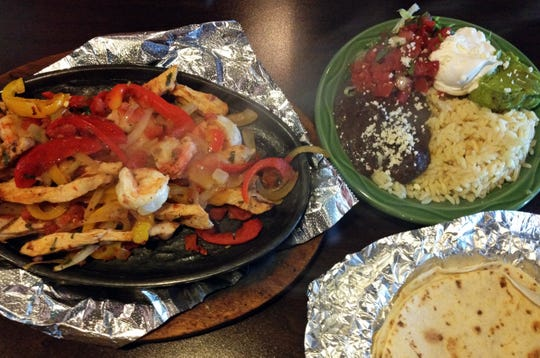 The fajitas are a top-selling dish at La Bamba Mexican restaurant, which recently reopened in East Naples.