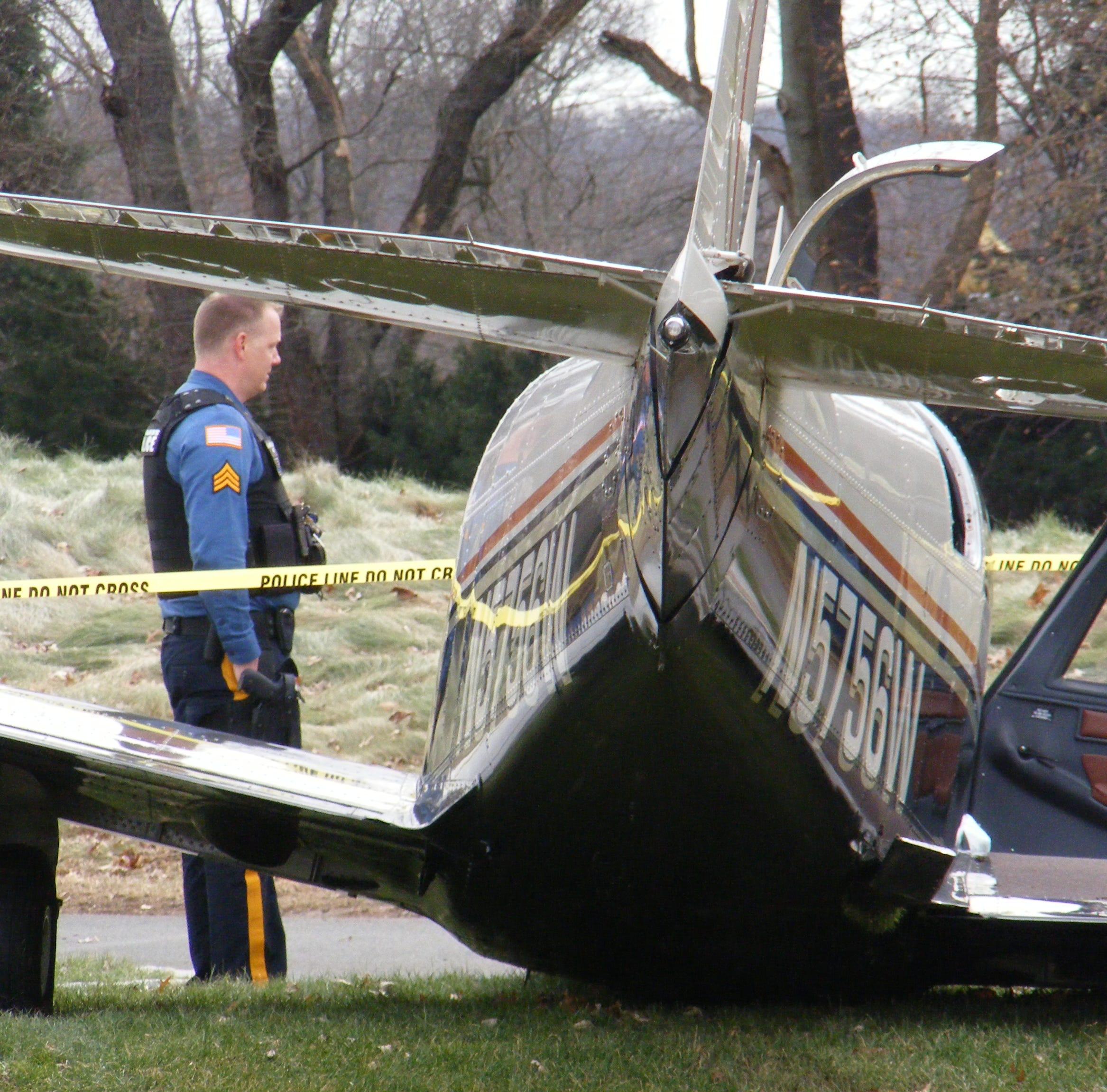 Plane makes emergency landing on Paramus Golf Course
