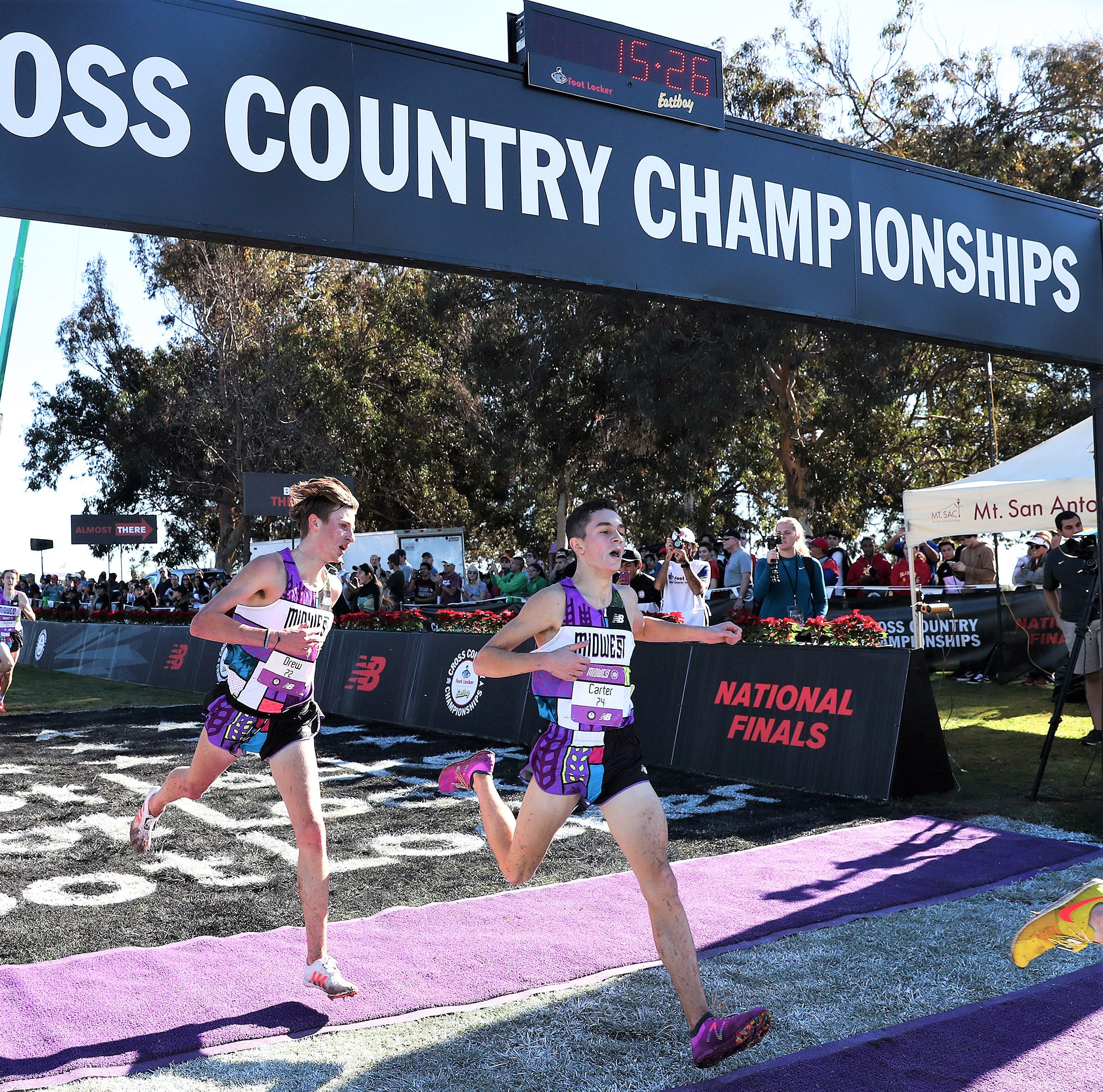 Plymouth High's Solomon fourth in Foot Locker National Championship