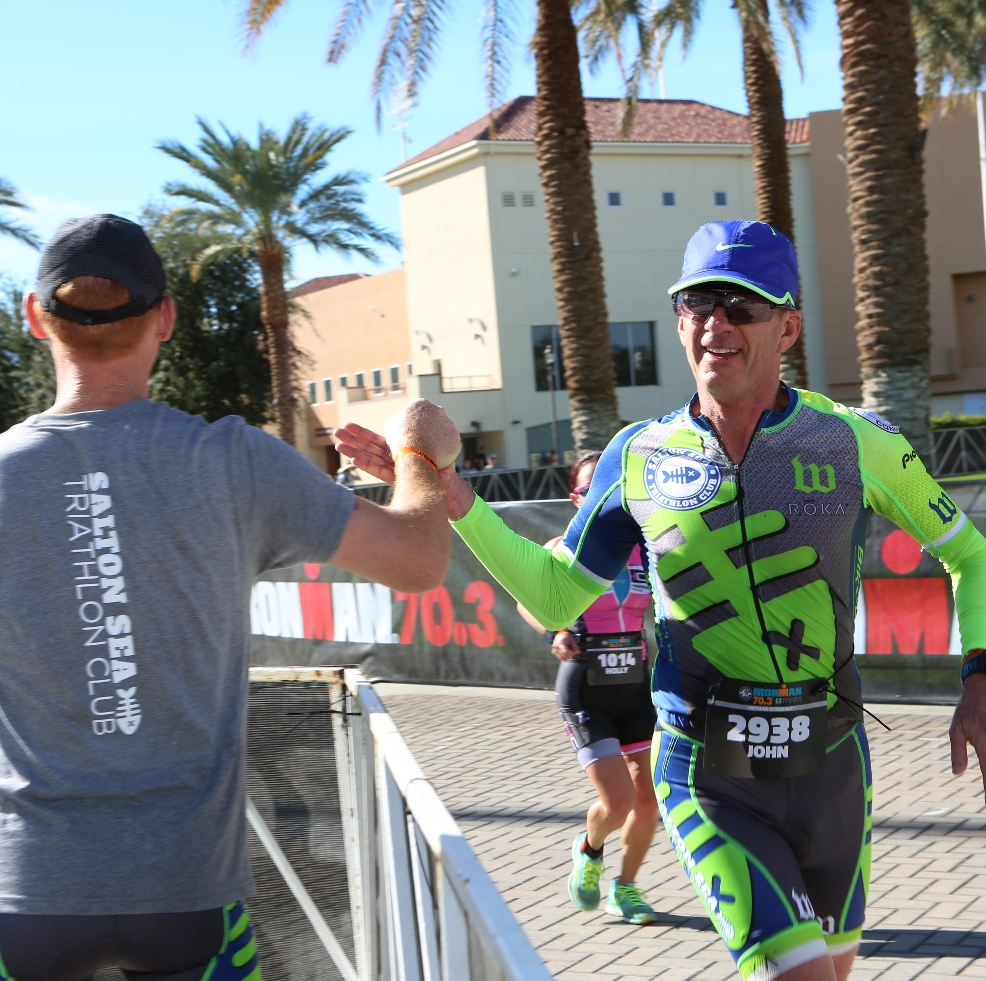 Inaugural Ironman event crowns winners as La Quinta, Indio residents get stuck in traffic