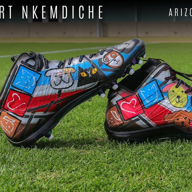 From cancer to climate change, Cardinals sport cleats for causes important to them