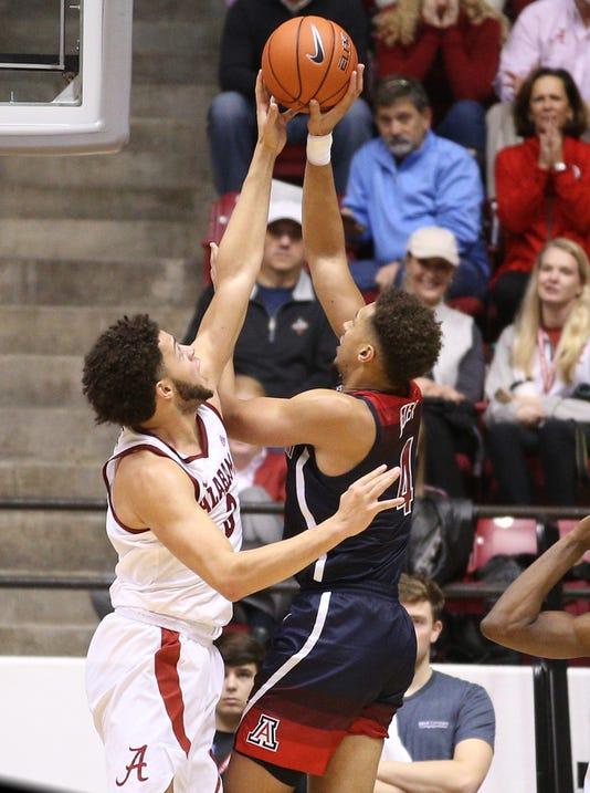 Ncaa Basketball Arizona At Alabama