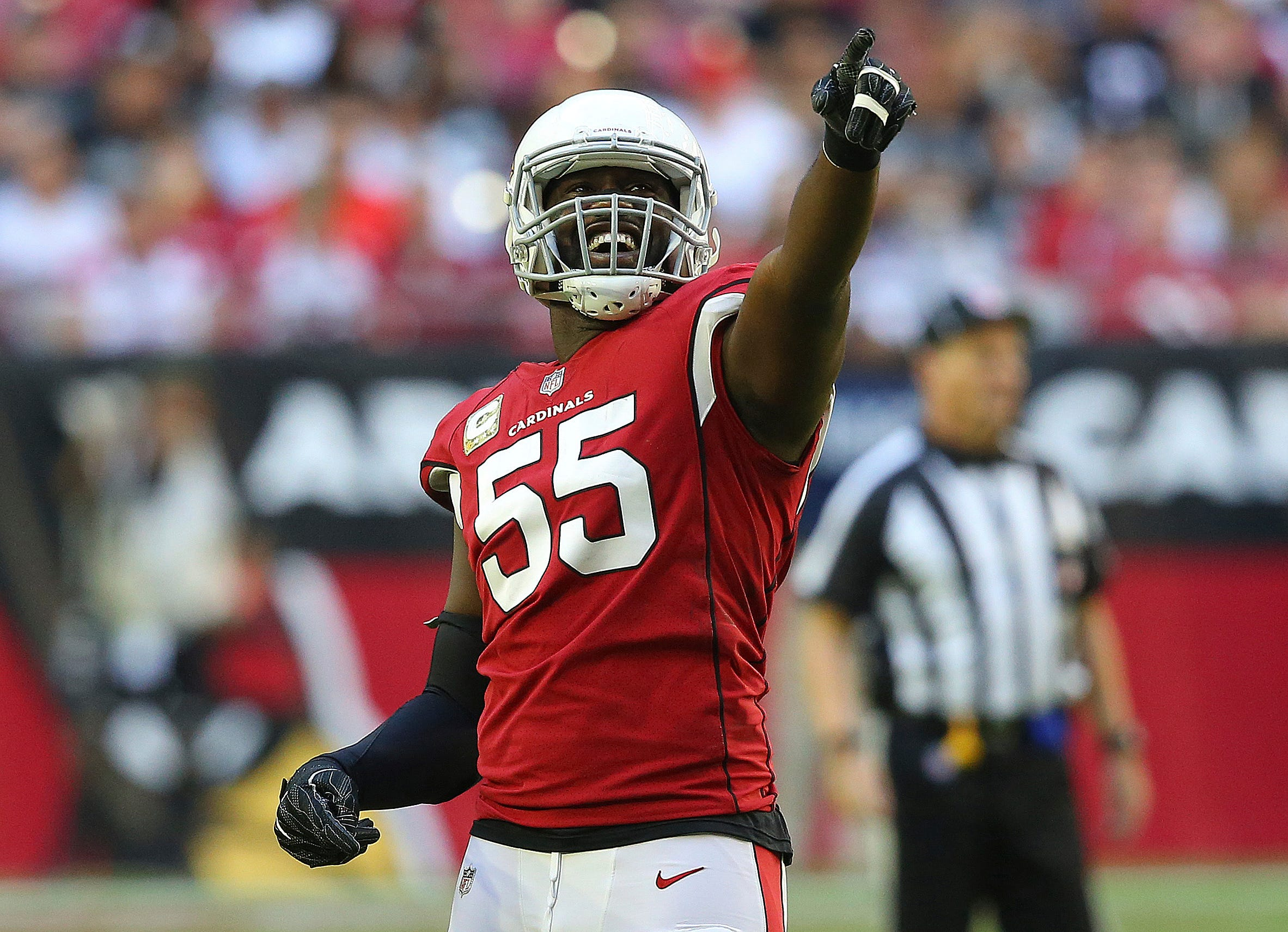 Why not?' Cardinals LB Chandler Jones feels closer to sack record