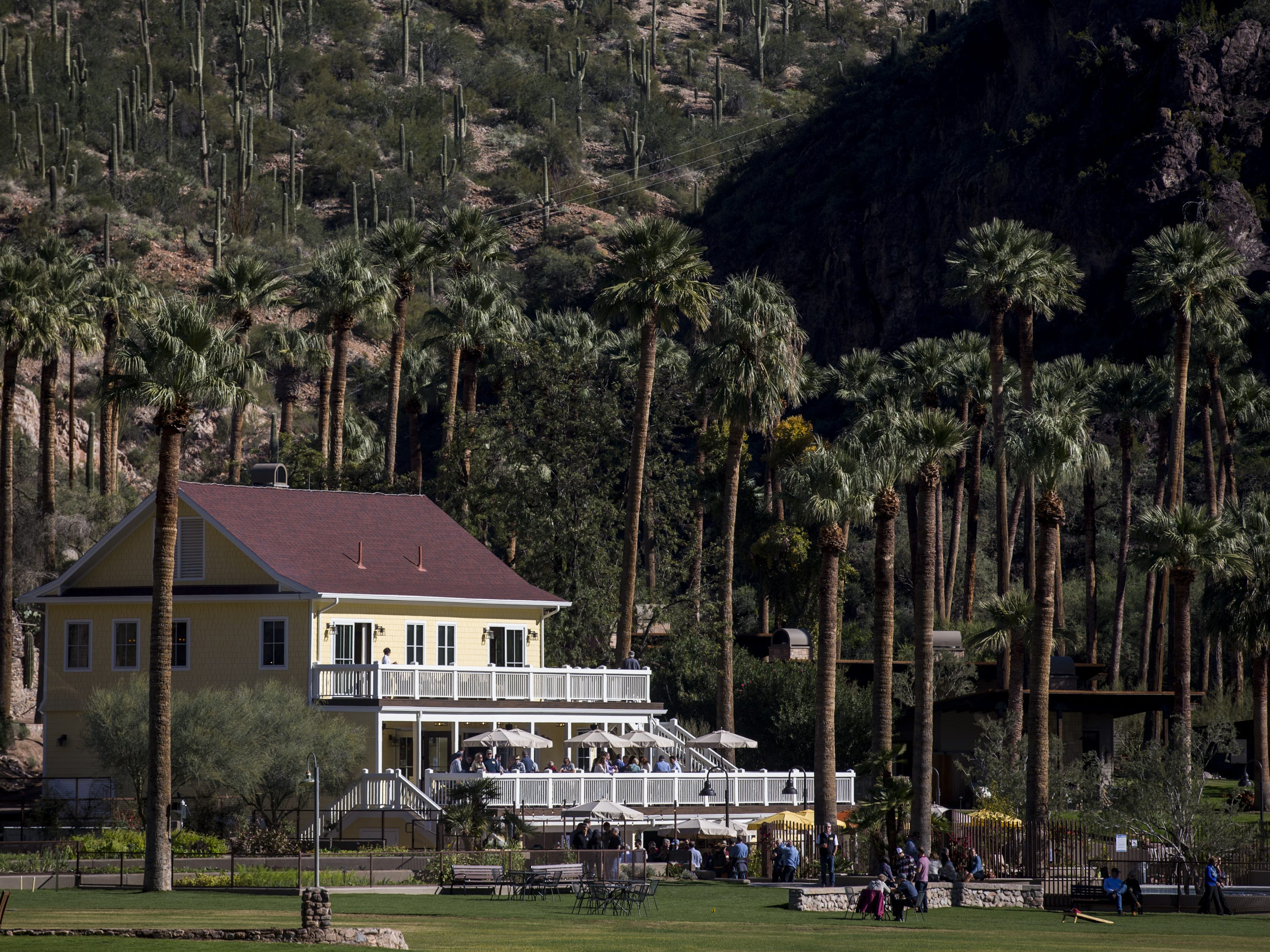 The newly renovated Castle Hot Springs resort is pictured on Saturday, Dec. 8, 2018, in Morristown, Ariz. It has been 50 years since the resort has hosted any guests.
