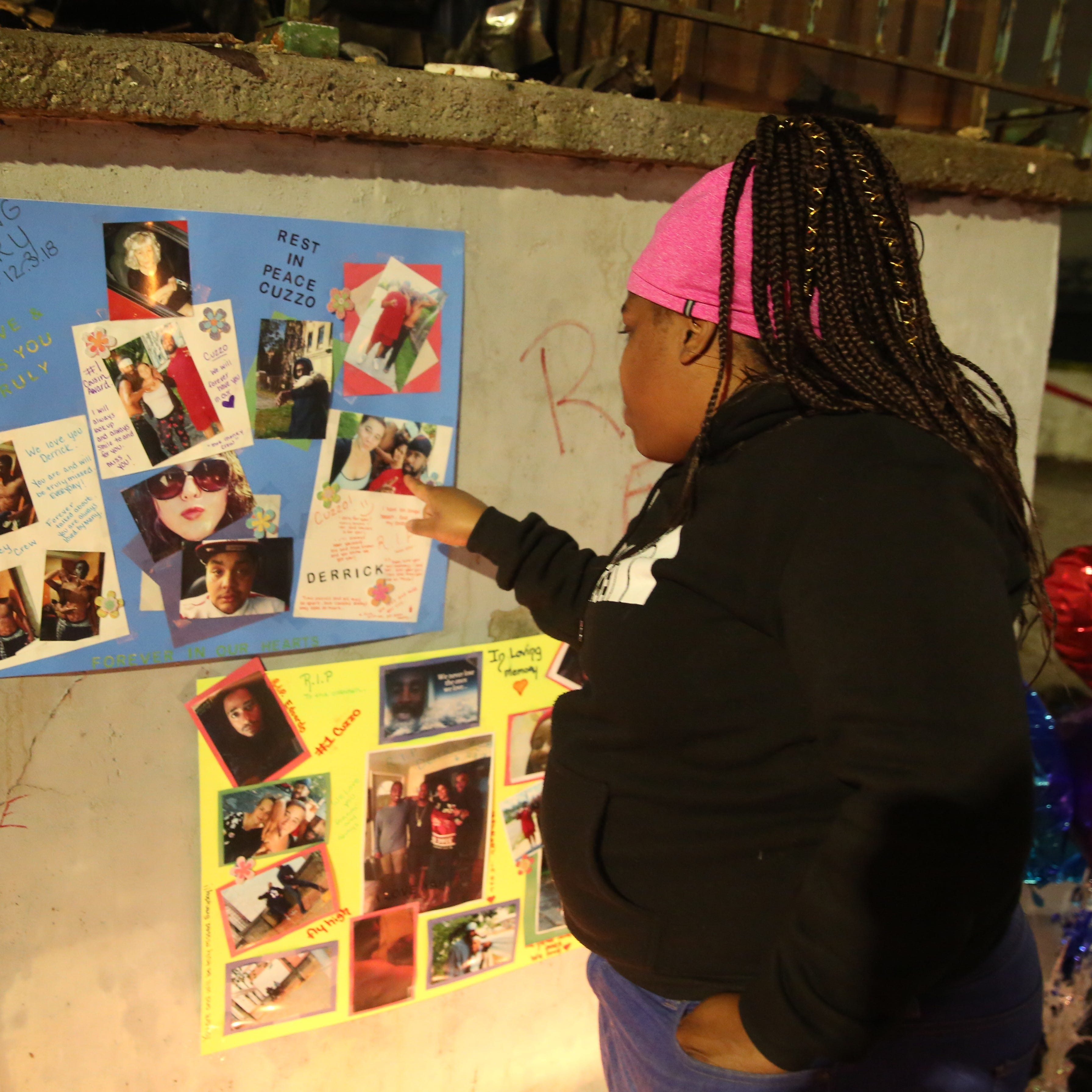 Poughkeepsie: Candles, tributes honor 4 who died in vacant building fire