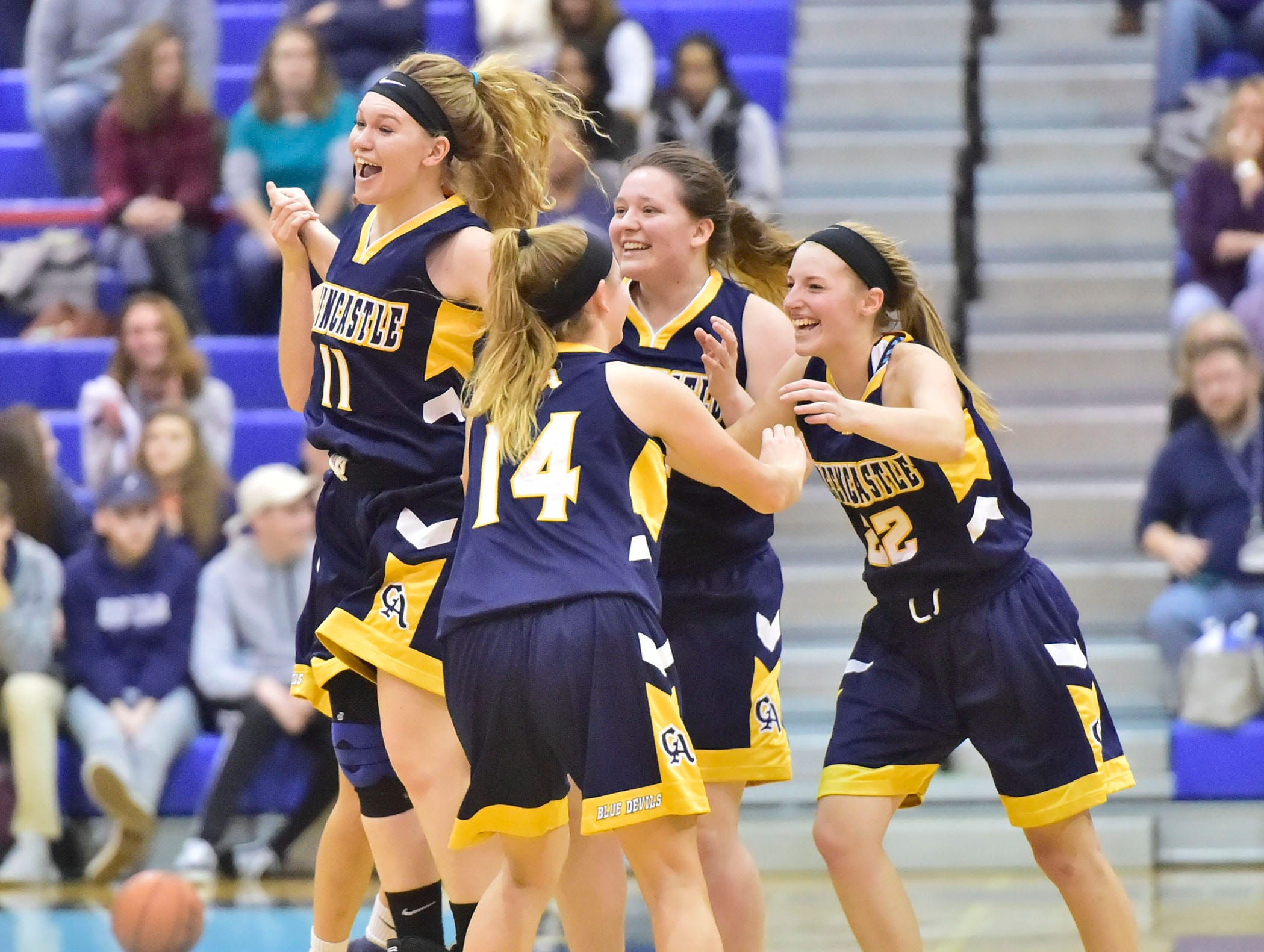 Greencastle defeated Chambersburg 26-22 during the finals at Franklin County Tip-Off Tournament, Saturday, Dec. 8, 2018.
