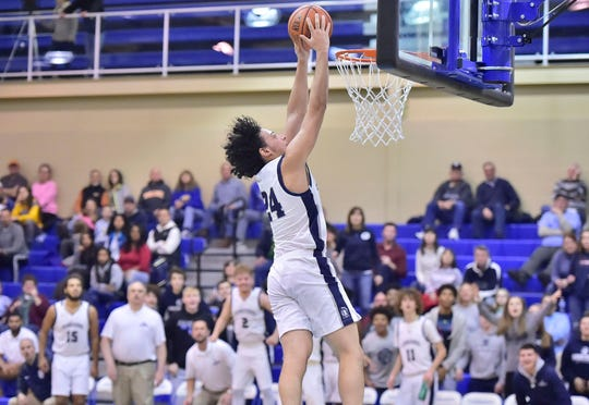 Chambersburg's Ty Holsopple will look to live up to the event's name at the 12th annual Dunks for Drew on Saturday.