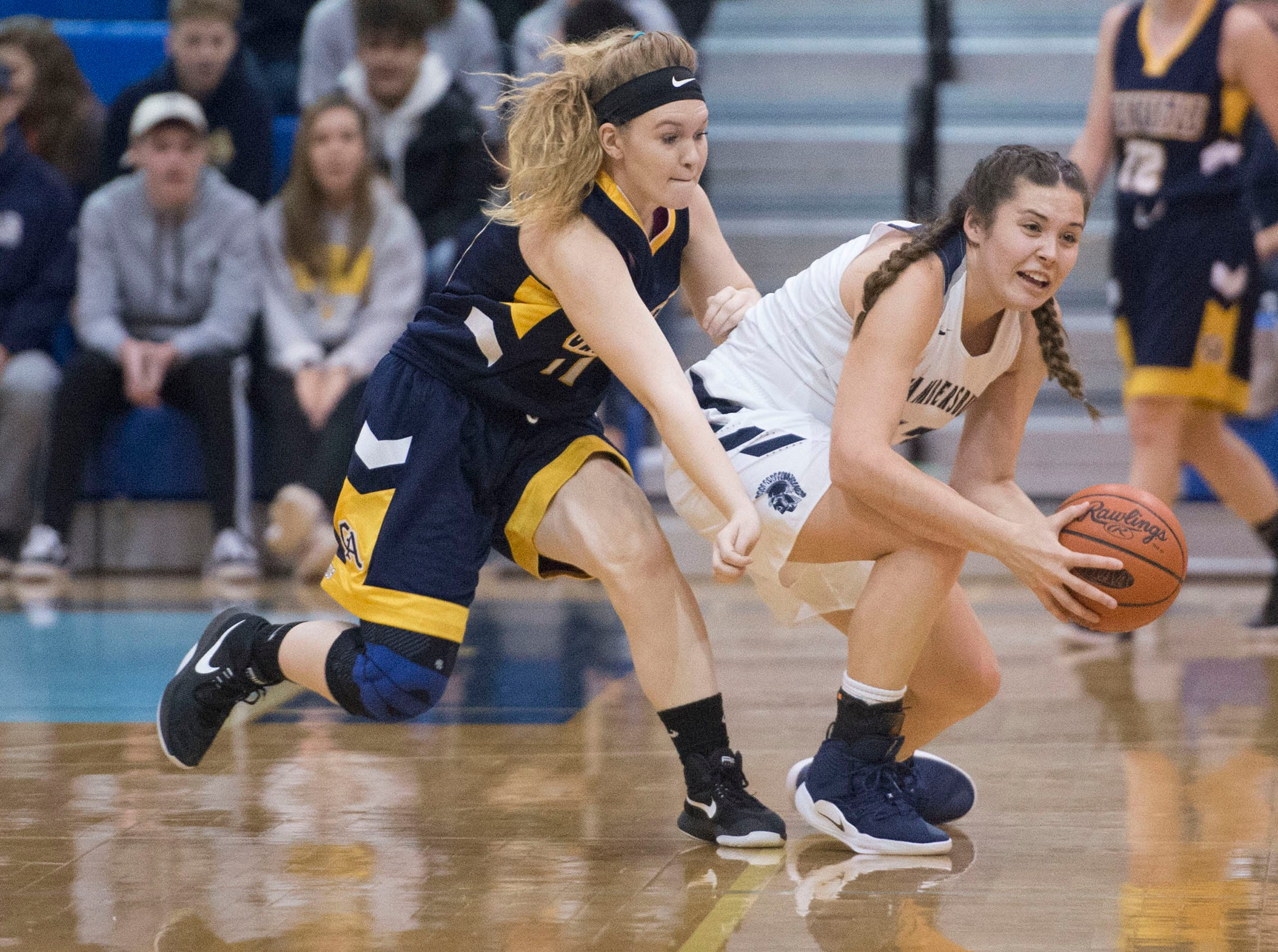 Chambersburg played Greencastle during the finals at Franklin County Tip-Off Tournament, Saturday, Dec. 8, 2018.