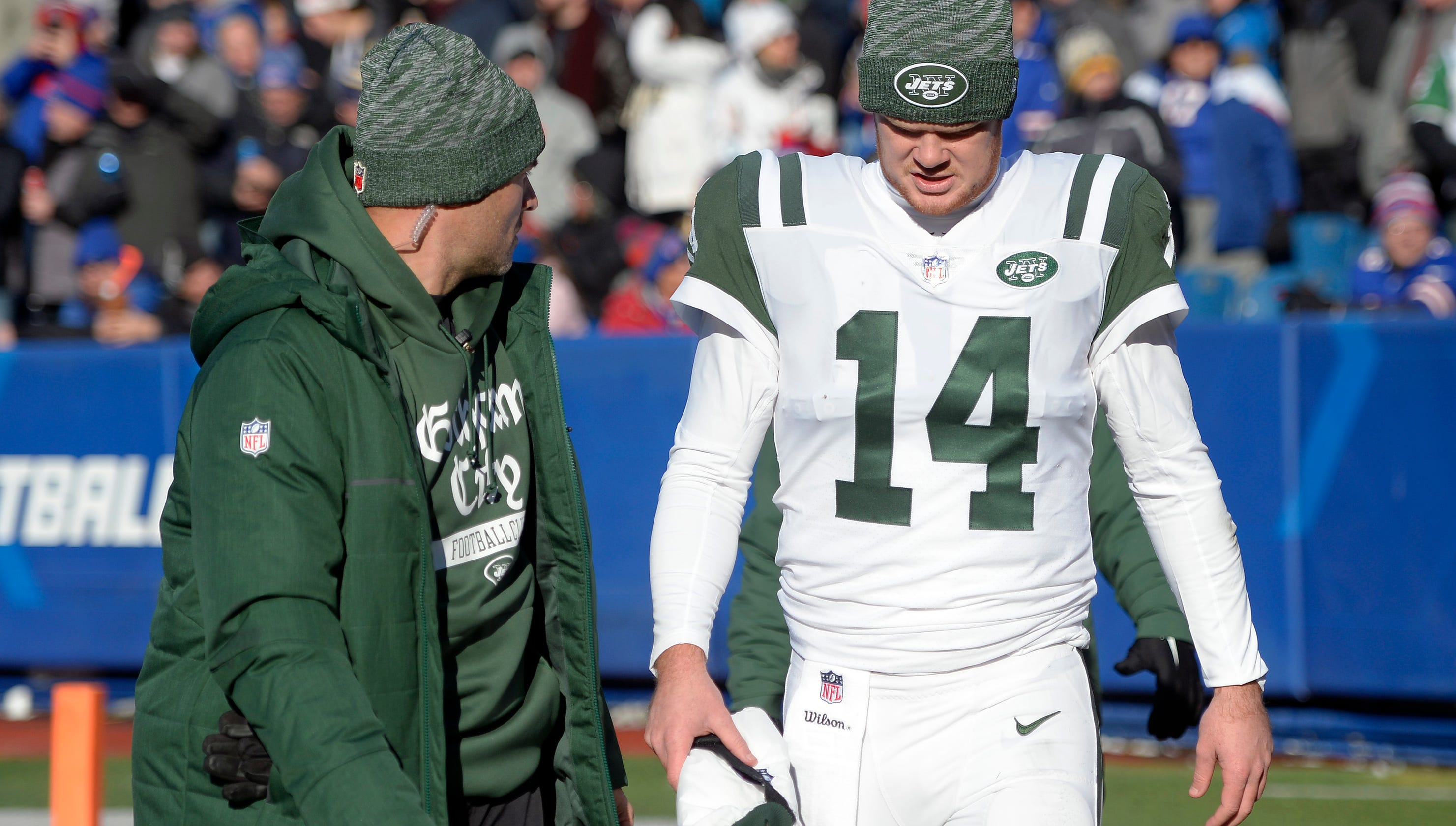 Lesean Mccoy Downgraded To Out Sam Darnold Returns After