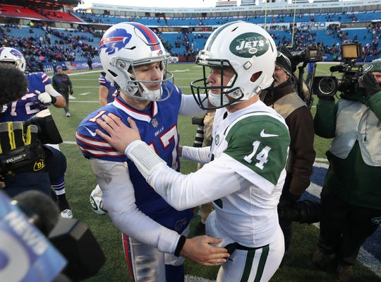 Josh Allen and Sam Darnold are poised to become long-time rivals in the AFC East.