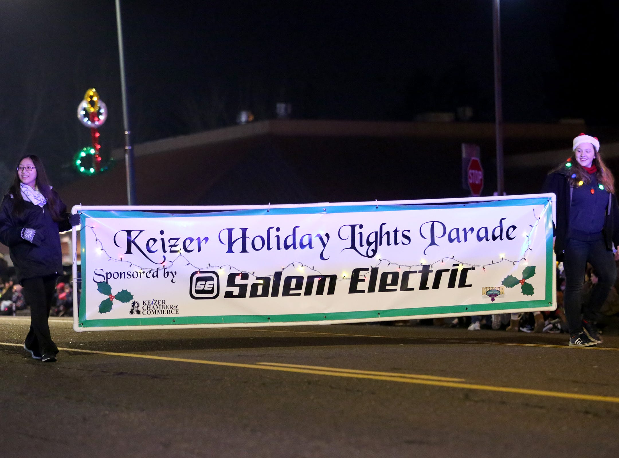 The Keizer Holiday Lights Parade returns for its third year in Keizer on Saturday, Dec. 8, 2018.