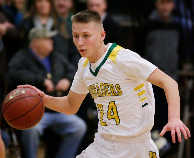 Freshman Casey Verhagen leads the Big East in assists and could be a key cog should Sheboygan Lutheran make a deep postseason run.