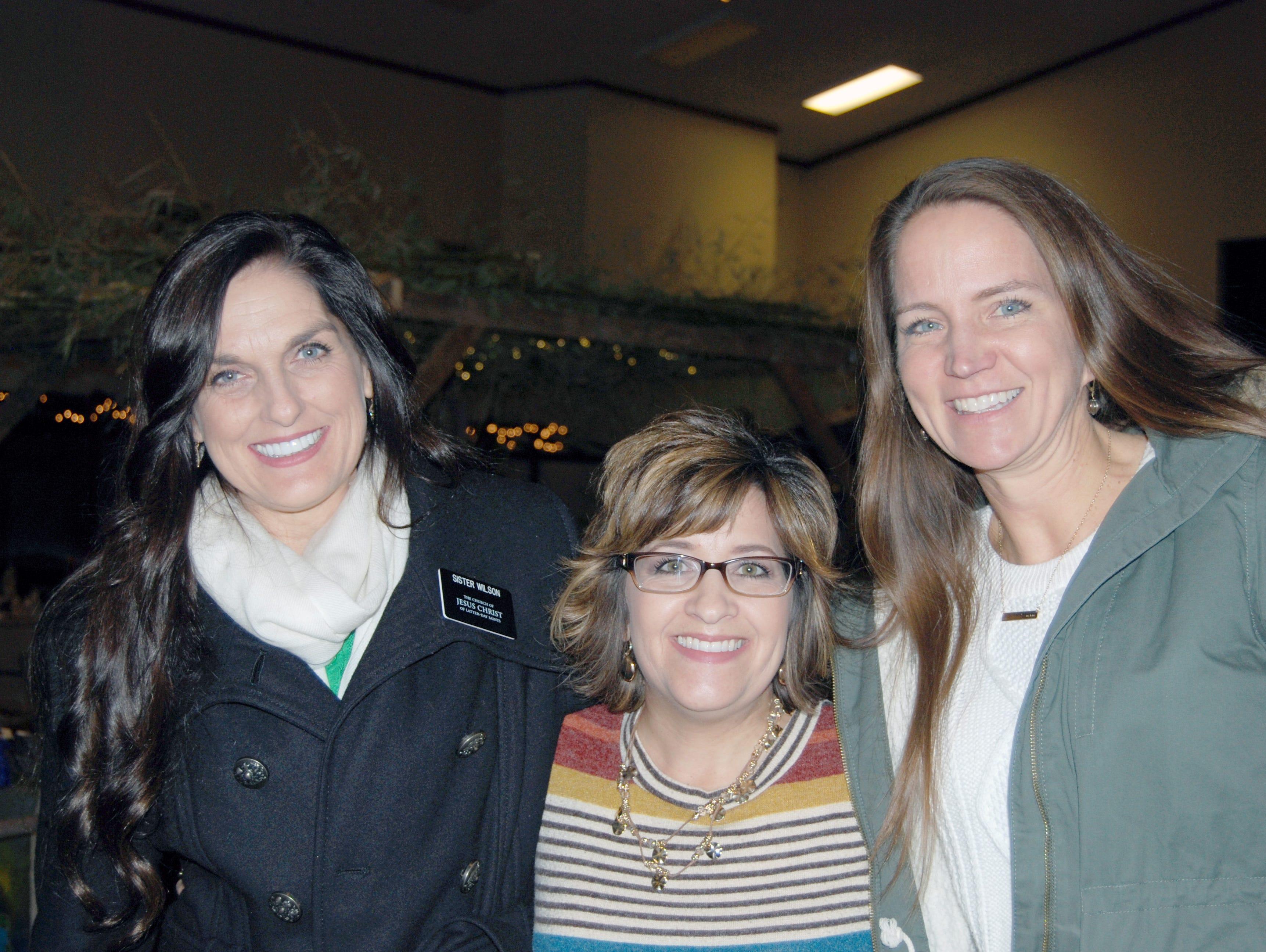 Sister Wilson, Karla Wallentine and Kerry Scott