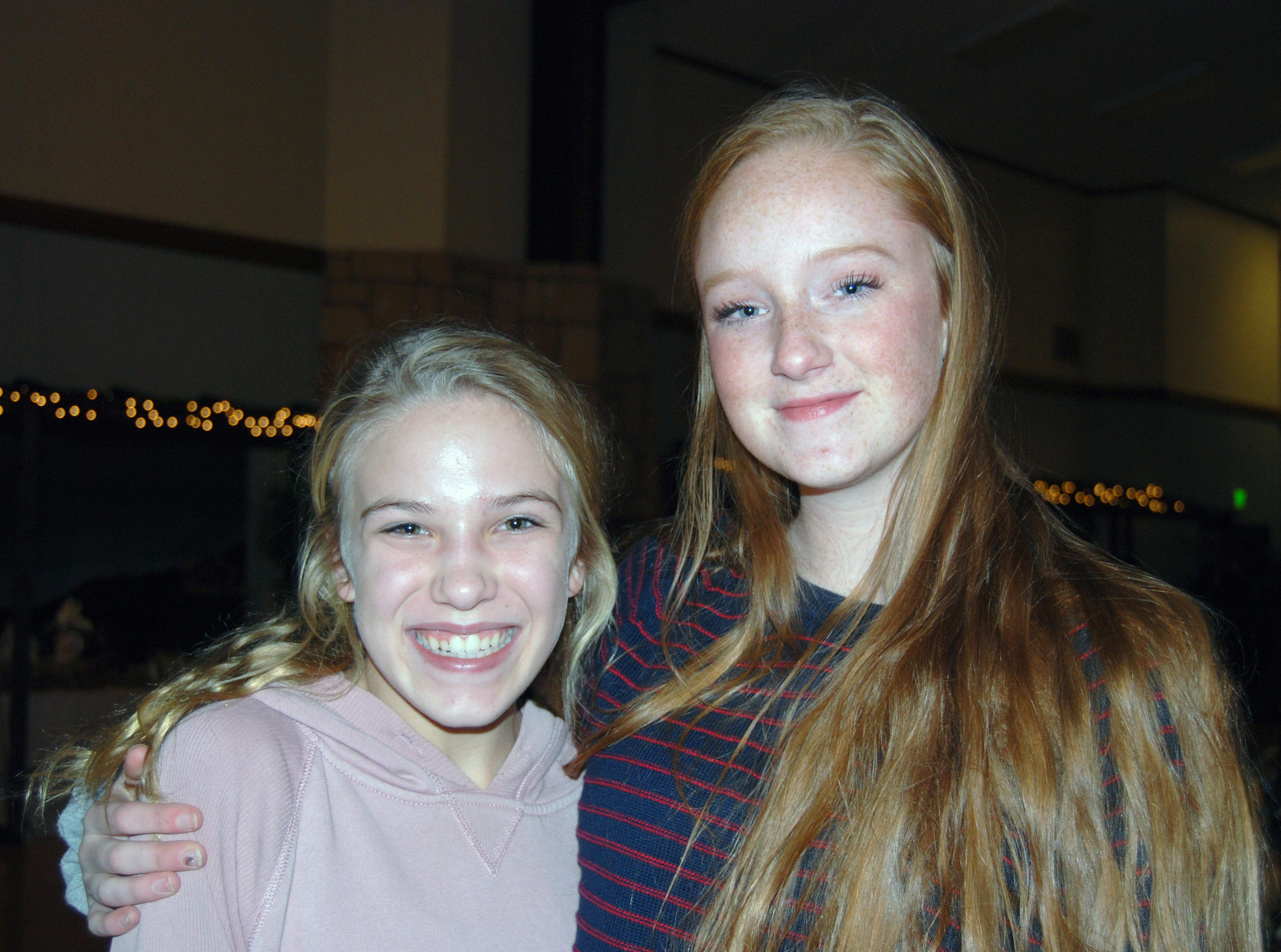 Gracie Brown and Lillian Petersen
