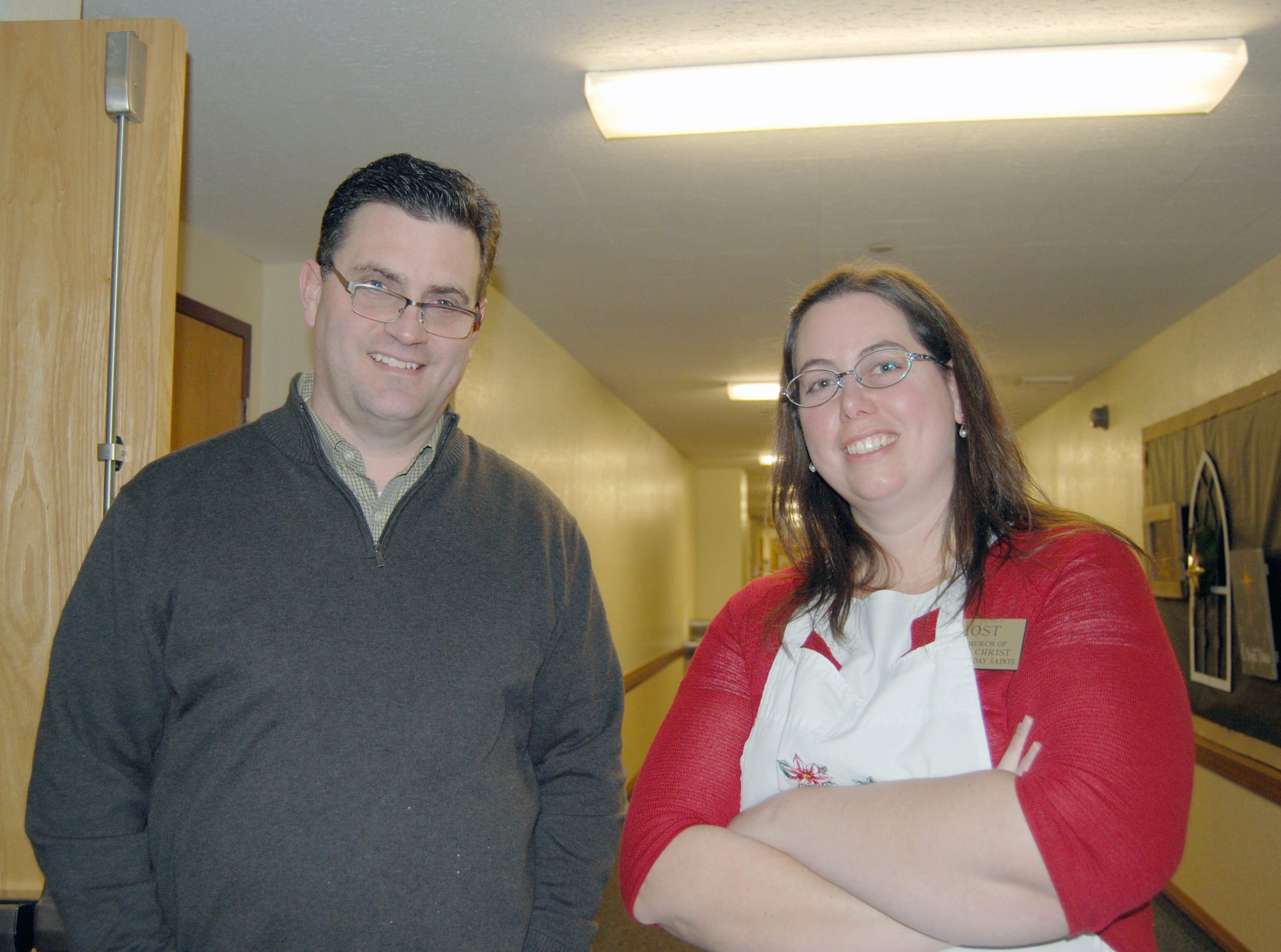 Scott Wallentine and Cari Maughan