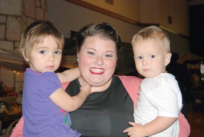 Myla, Cassie and Gabriel Wilson