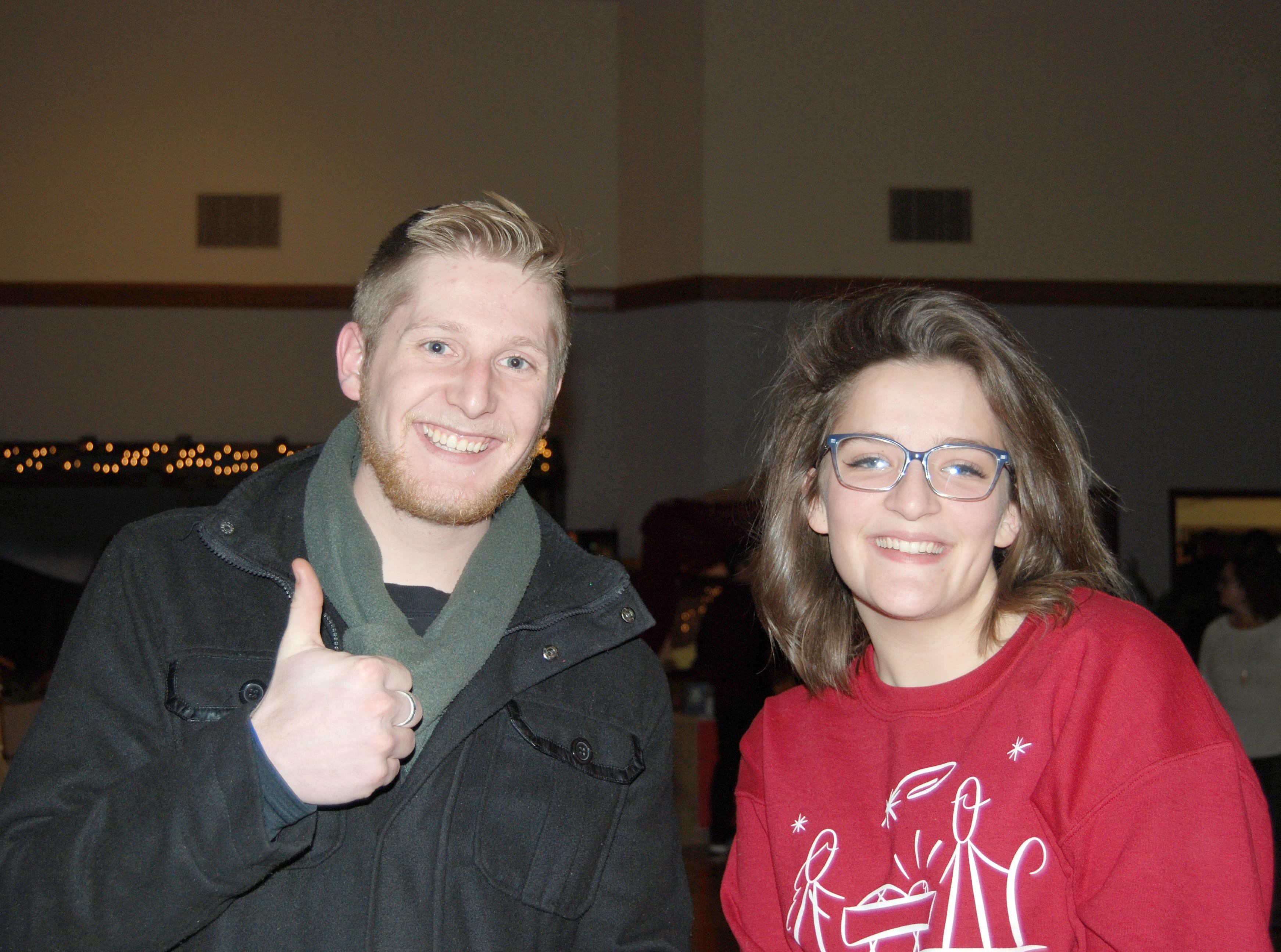 Colton Schmitt and Katy McClain