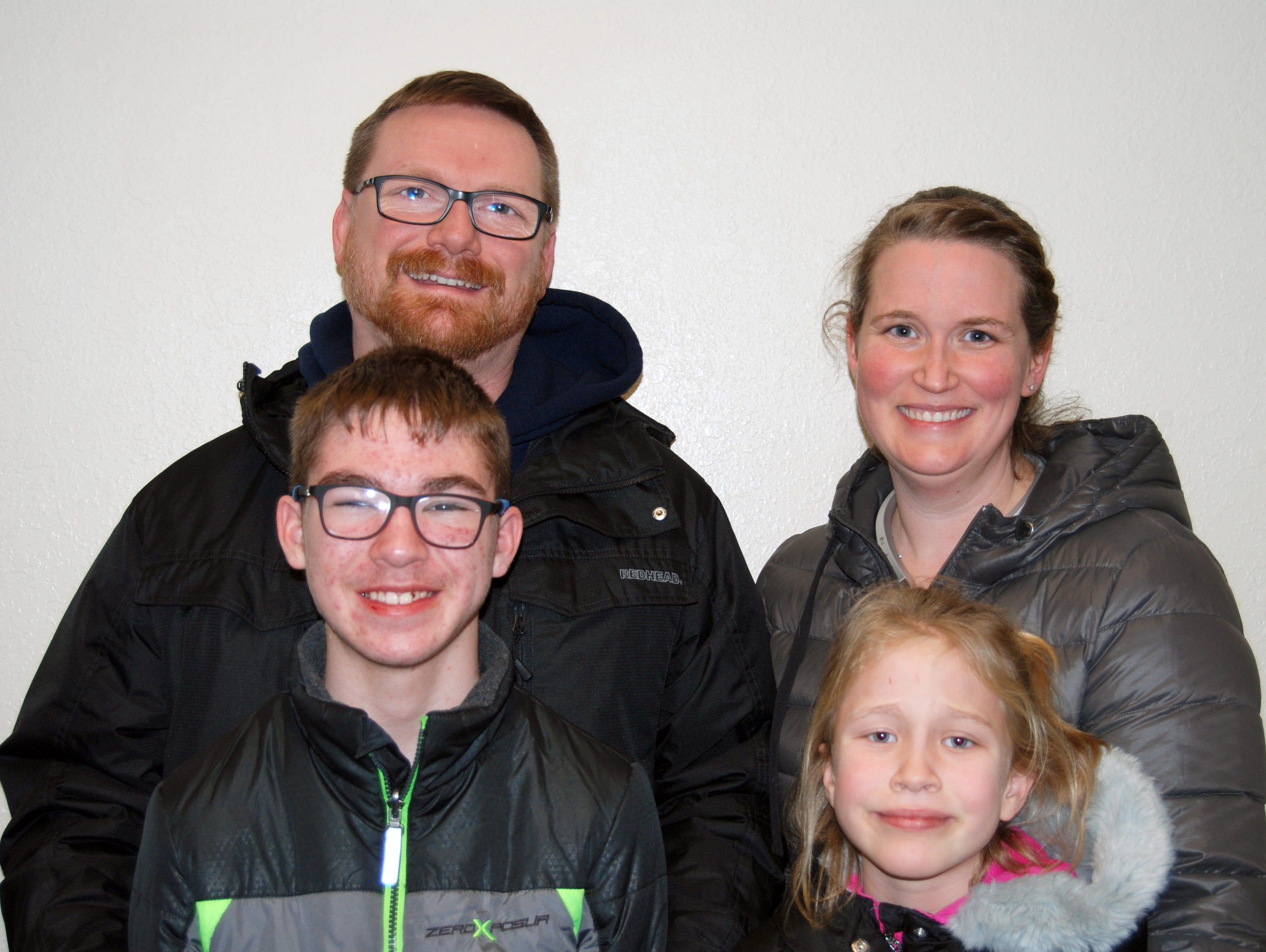 Ben, Deven, Ari and Ashley Petersen