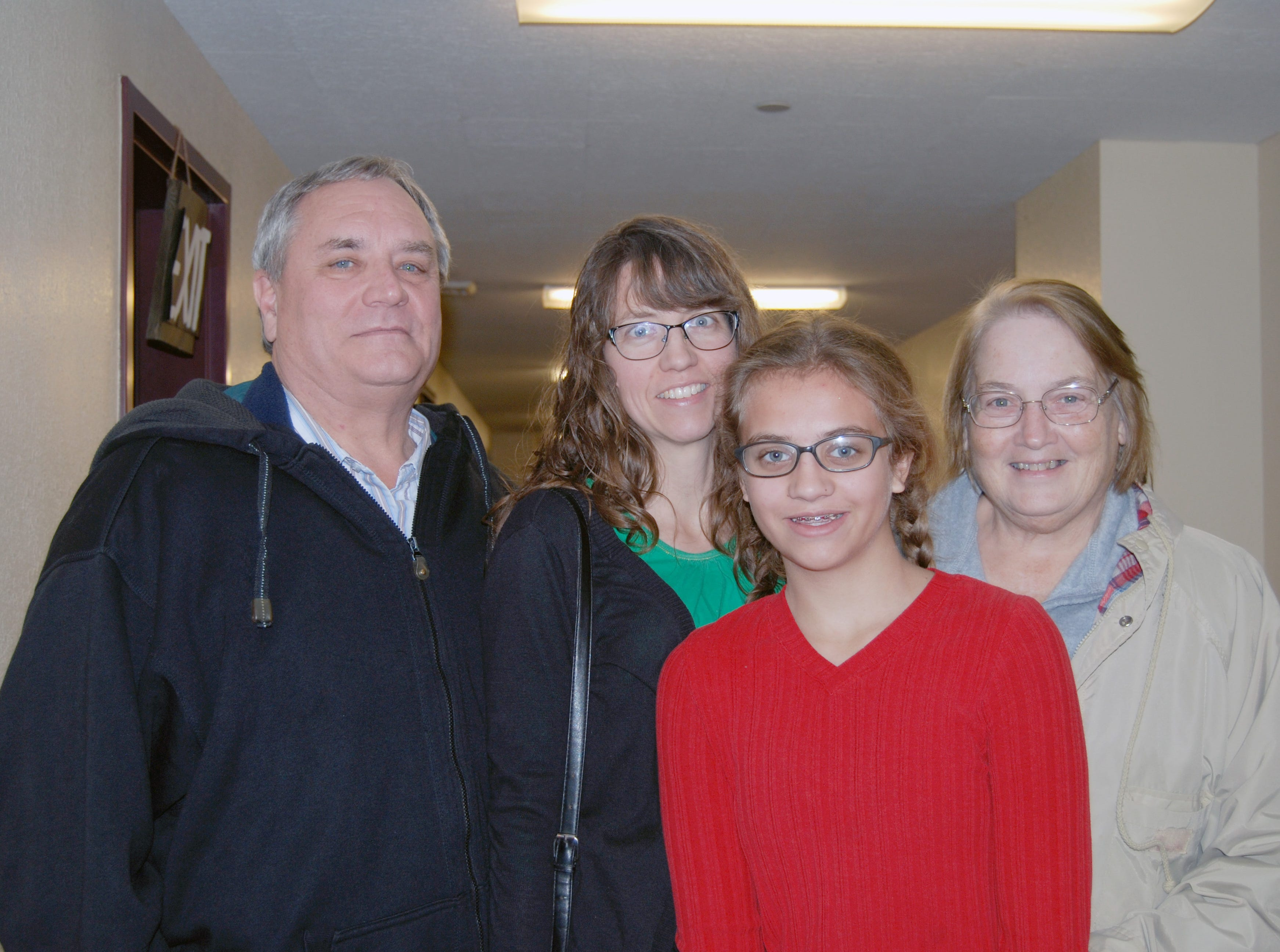 Devan, Jessica, Lea and Karen Maughan