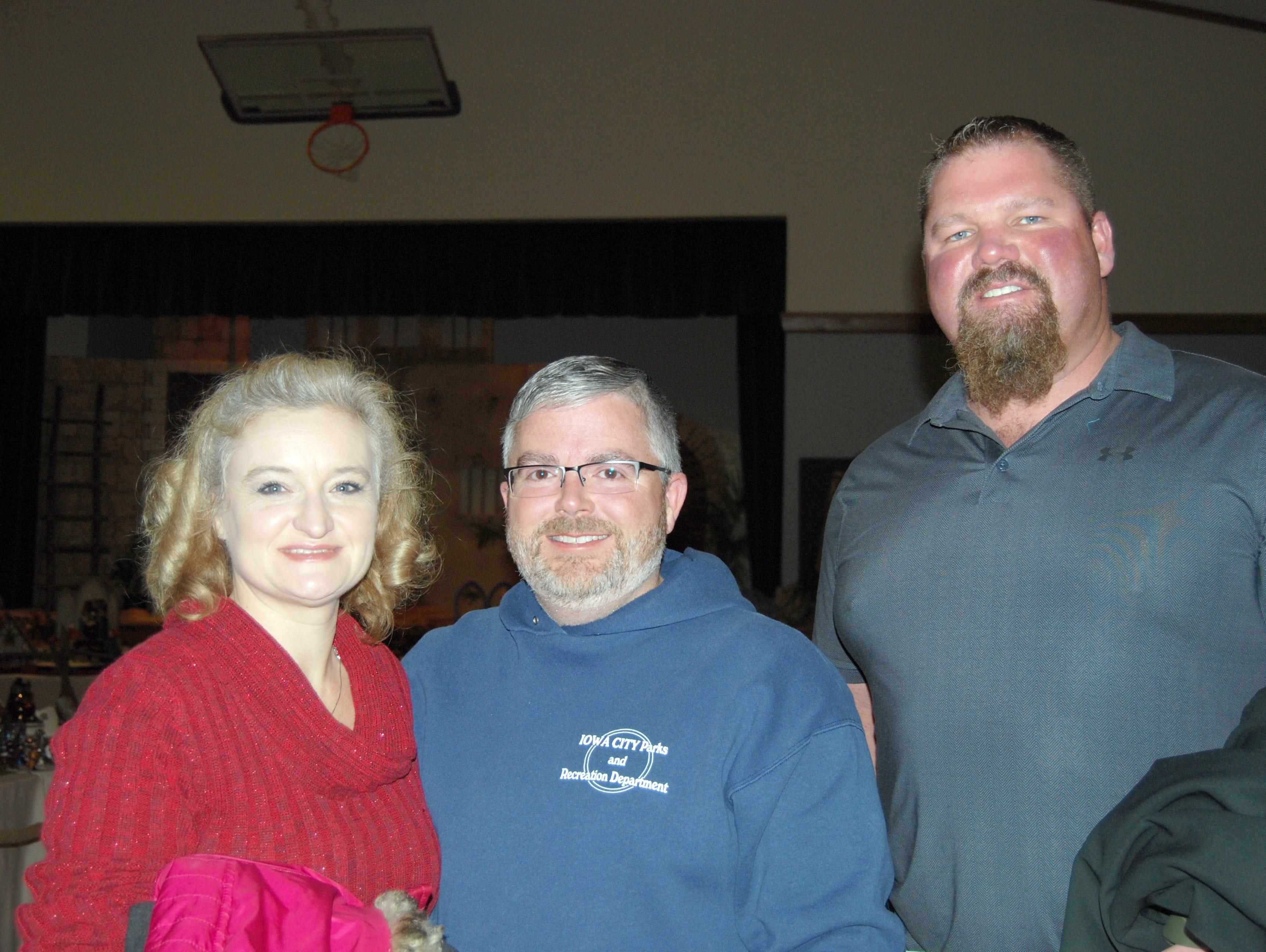 Dawn and Scott Gibbins and Phil Holman