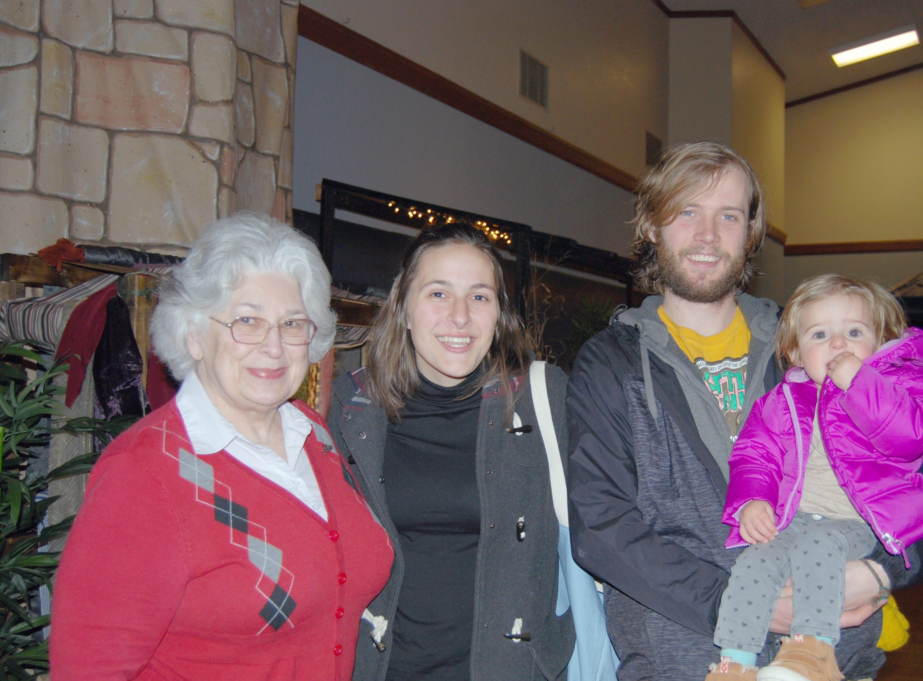 Lynette Calhoun, Josee, Aaron and Kenda Johnstun