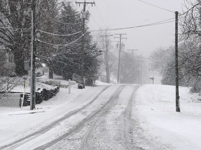 Winter weather forces schools to close Thursday, but operate on at-home learning plan.