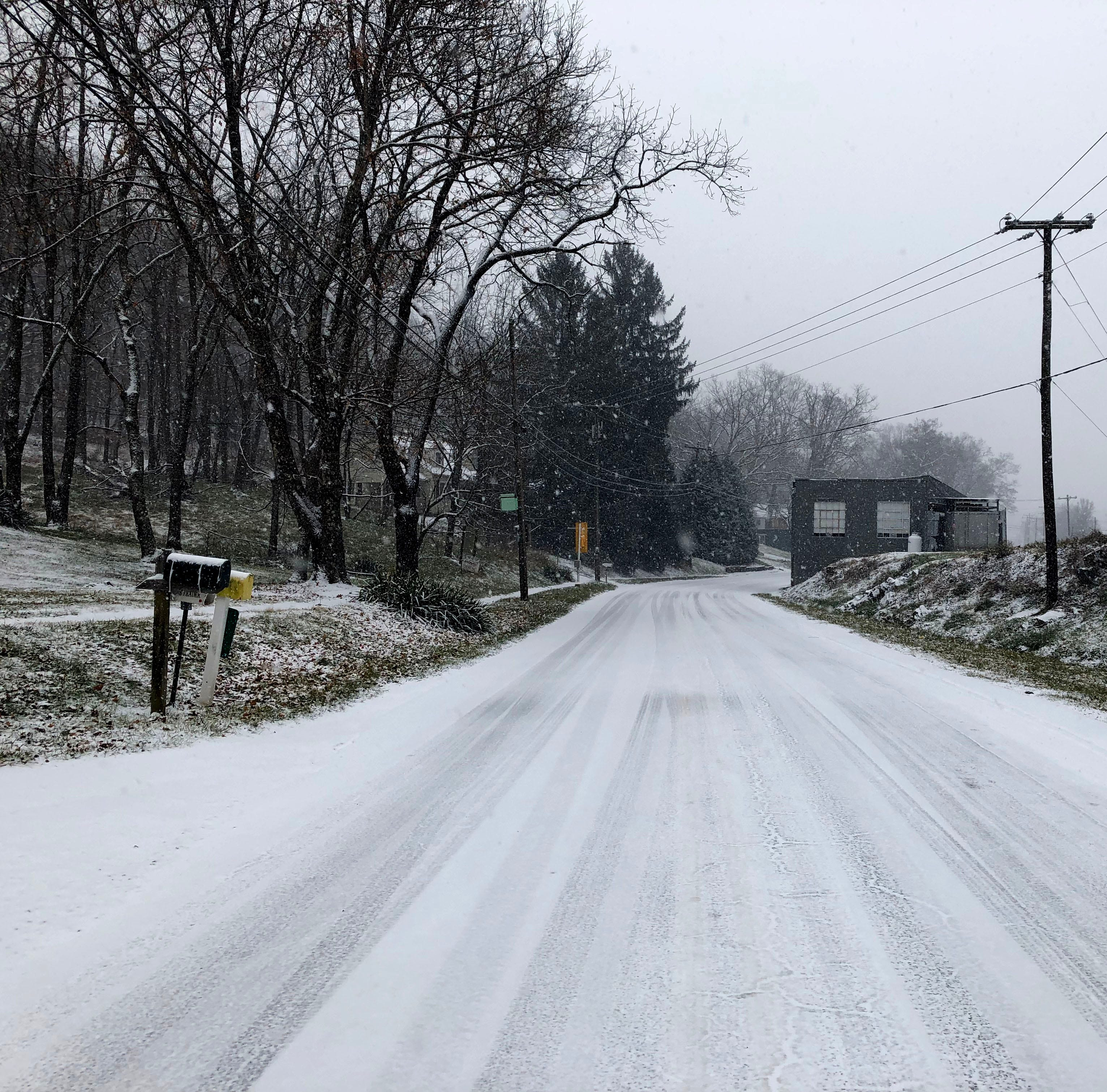 Snow blankets the Valley Sunday morning — What we know now