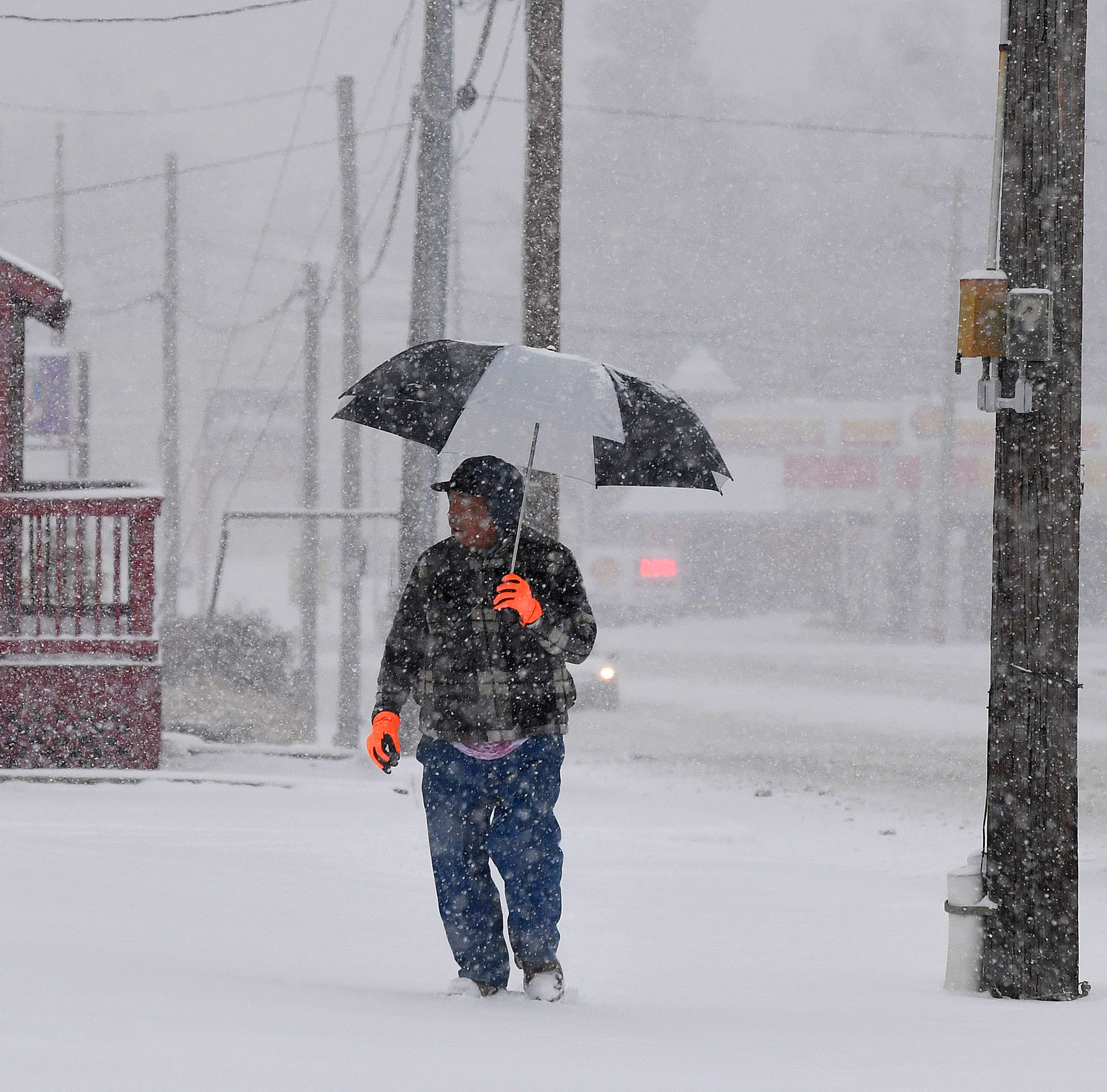 Photos: December snow rolls into Valley