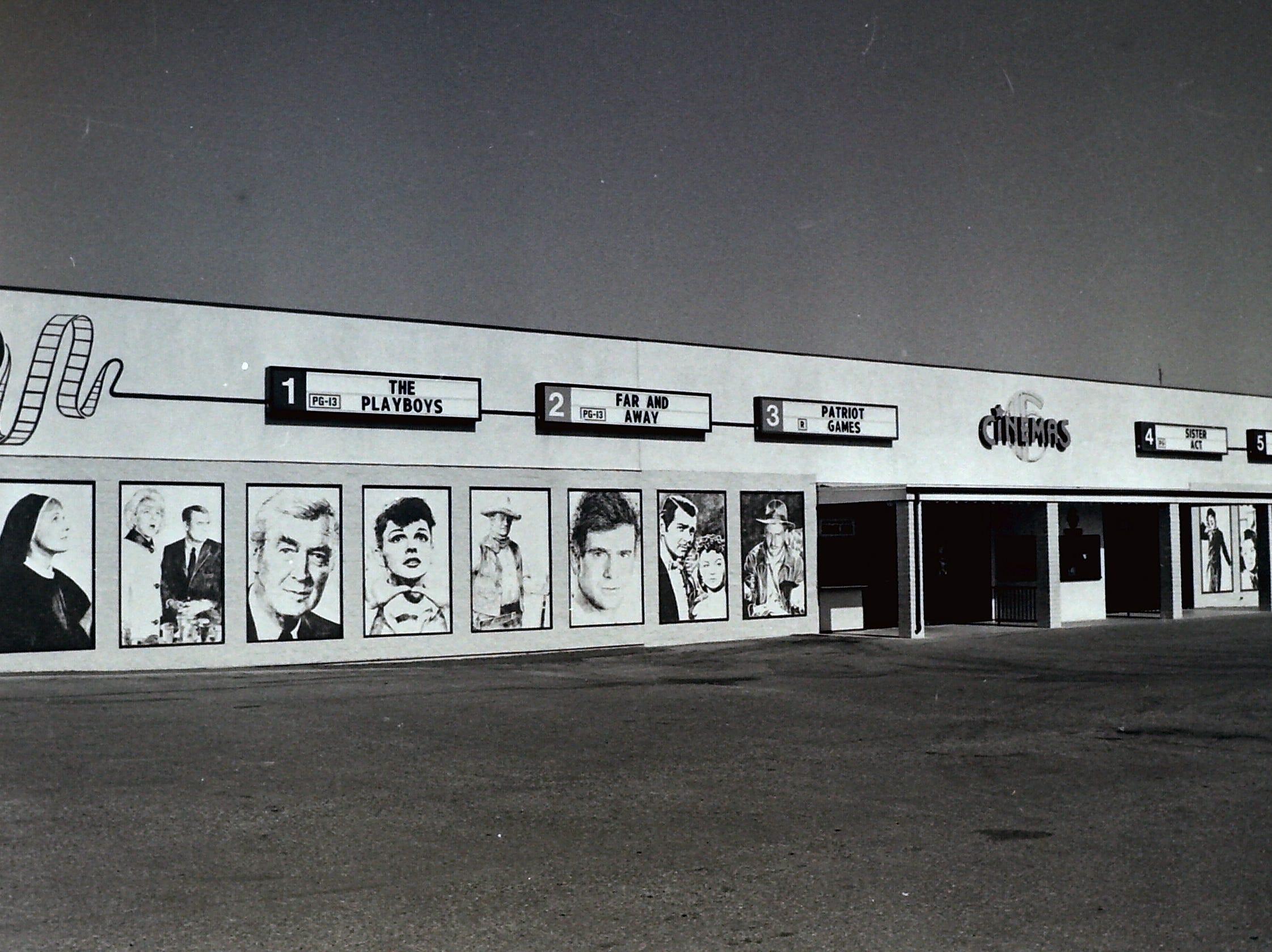 St. George movie theaters circa 1992.
