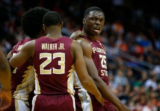 Ncaa Basketball Florida State At Connecticut