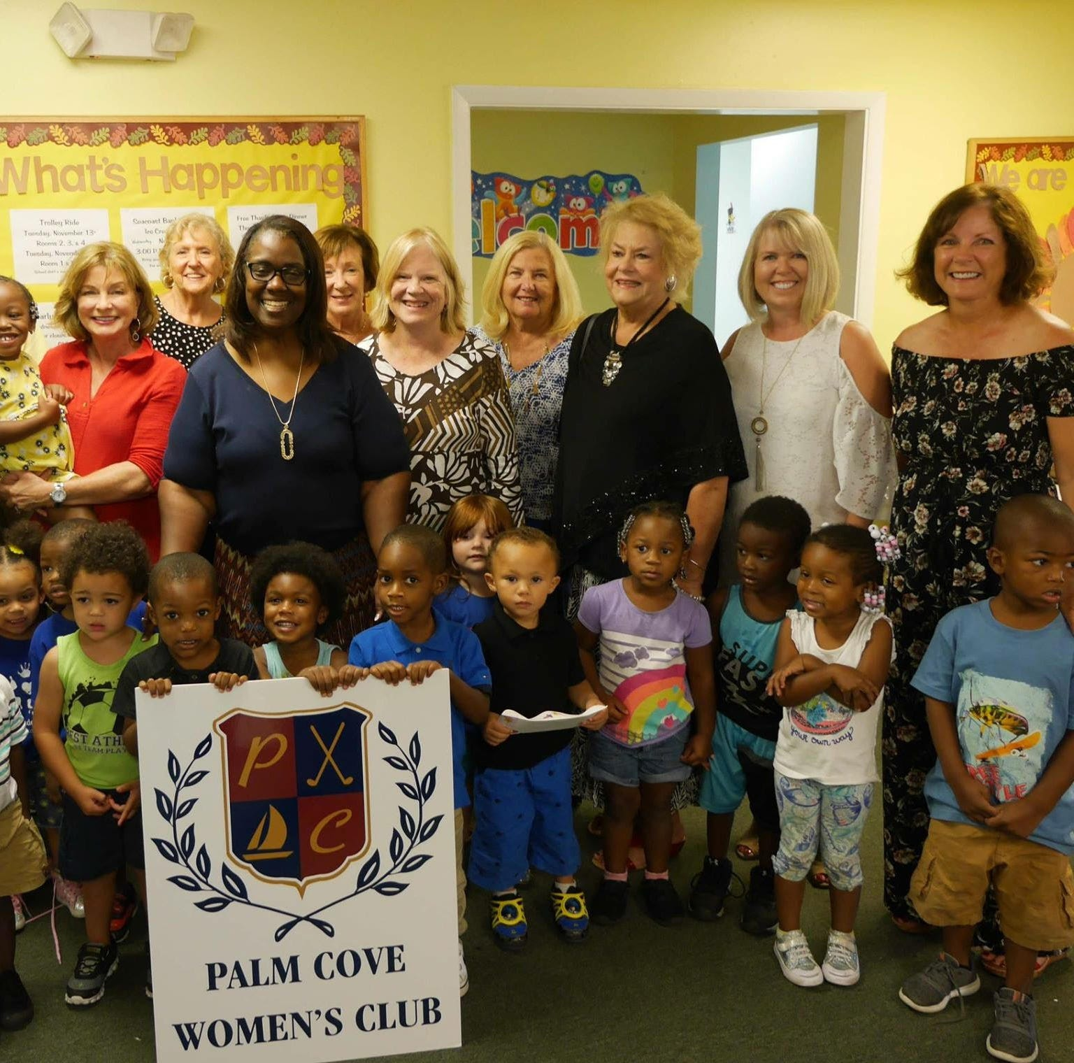 Gertrude Walden Child Care Center welcomes $16,200 donation