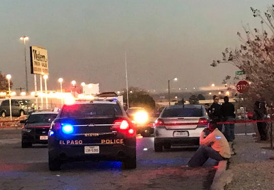 El Paso police investigate a shooting in the 6000 block of Dyer Street on Saturday, Dec. 8.