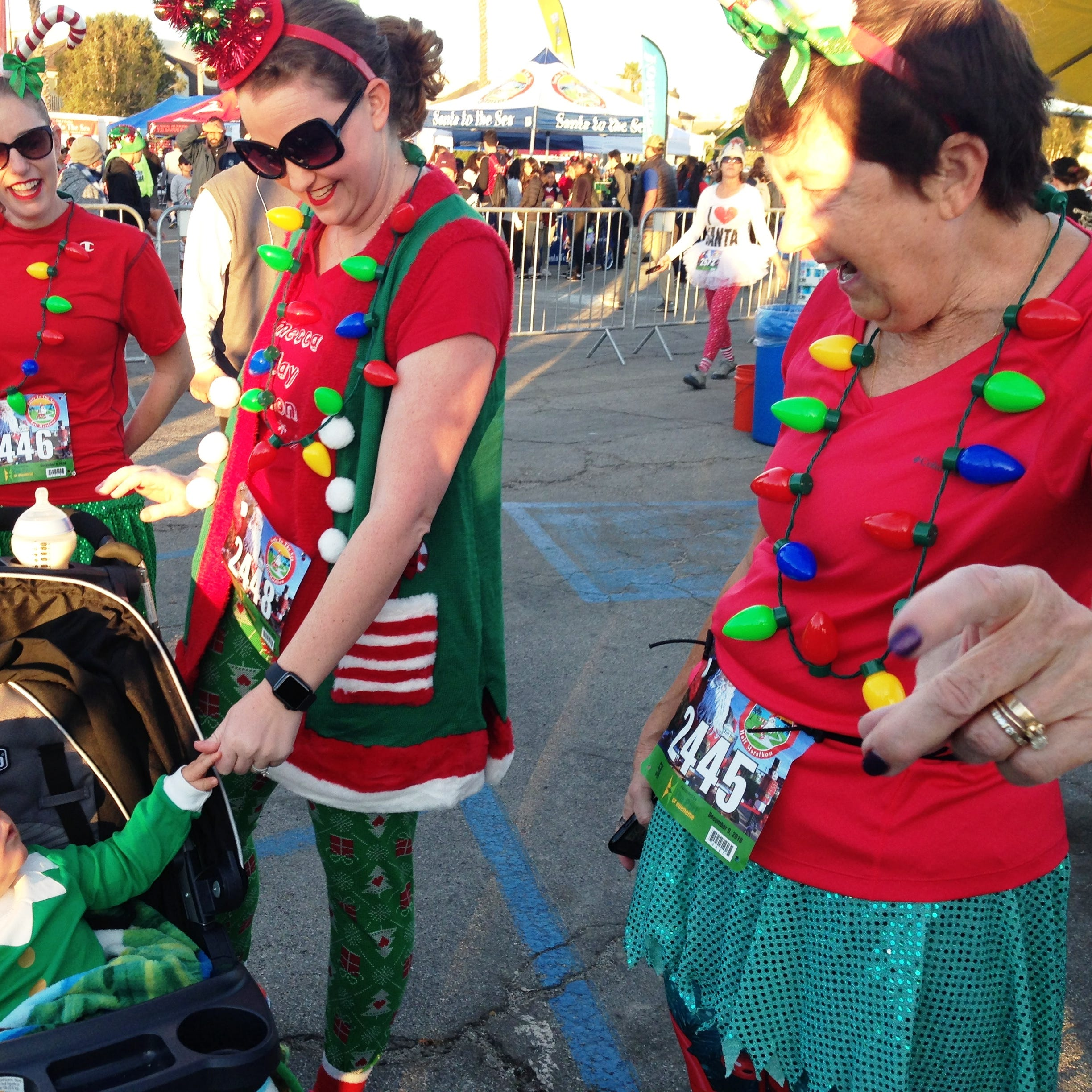 Thousands turn out for 11th annual Santa to the Sea in Oxnard