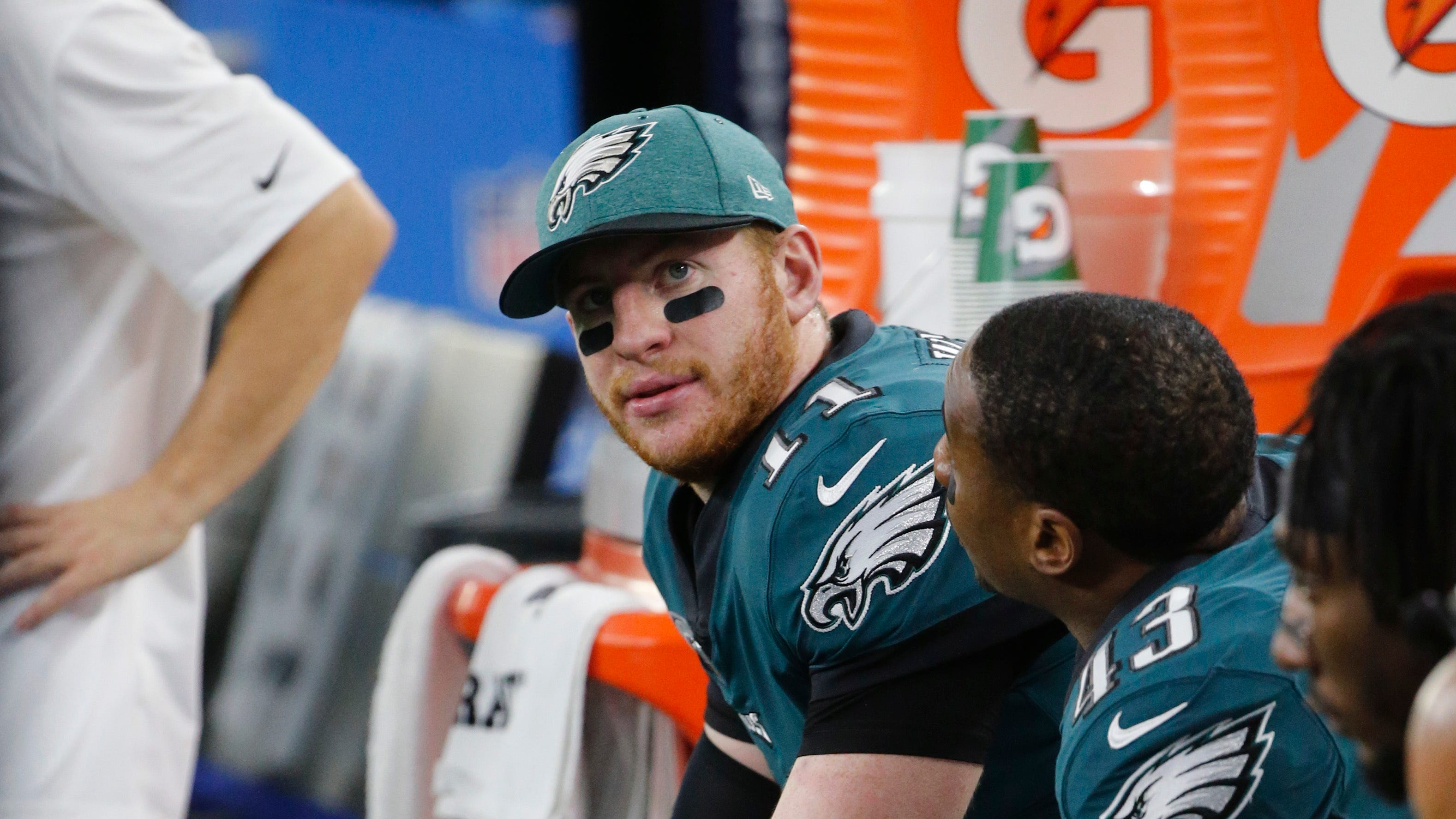 The Eagles will have to determine if Wentz can play through the injury or if he's better off sitting out the rest of the season.