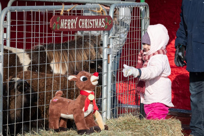 Rudolph Country Christmas was held Saturday, Dec. 8, 2018, in downtown Rudolph. The event included a 5K run, gingerbread house contest, children's activities, chainsaw sculpting, visits with Santa, horse-drawn wagon rides and more.