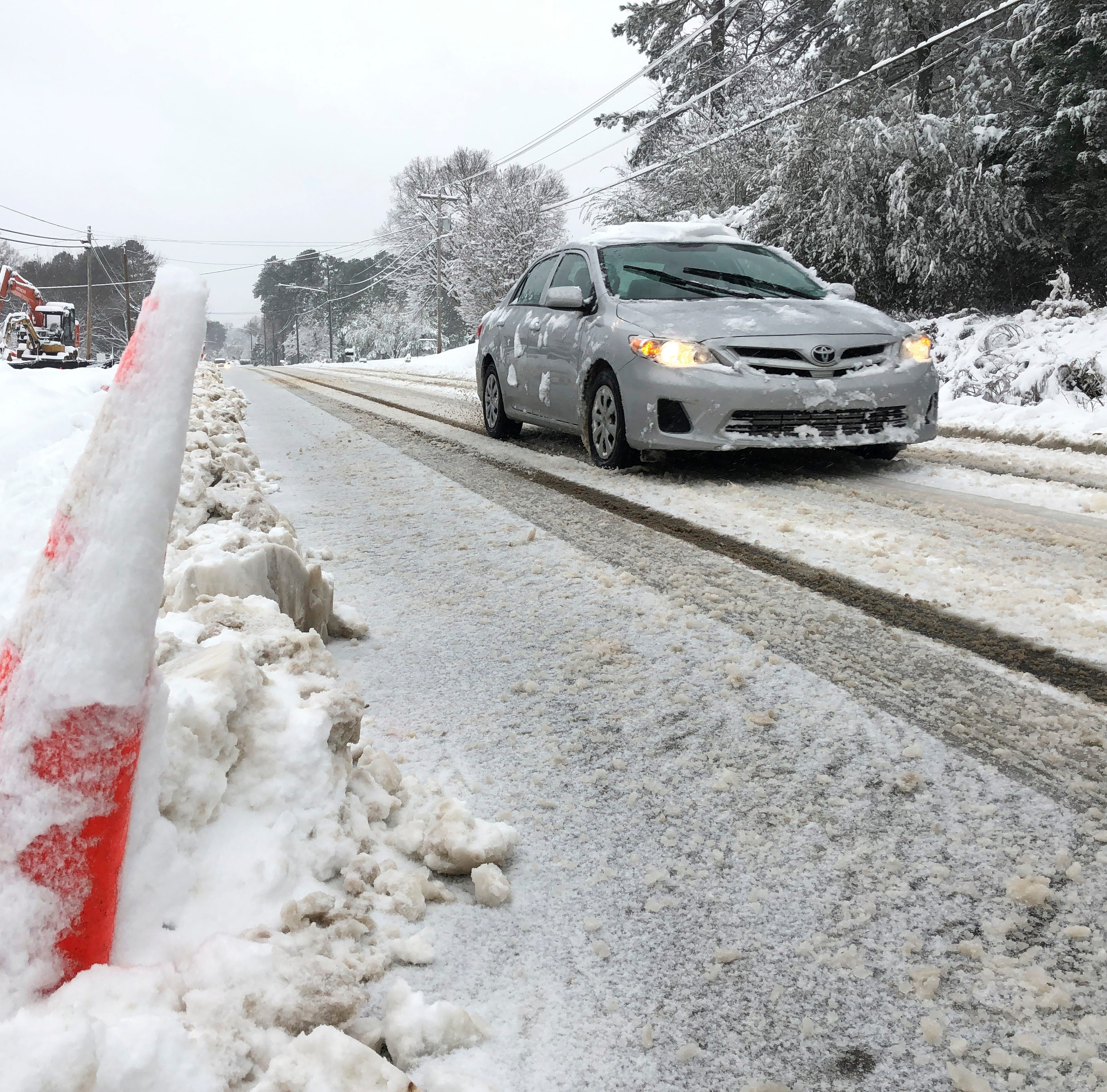 'It's serious': Winter storm brings havoc to Southeast