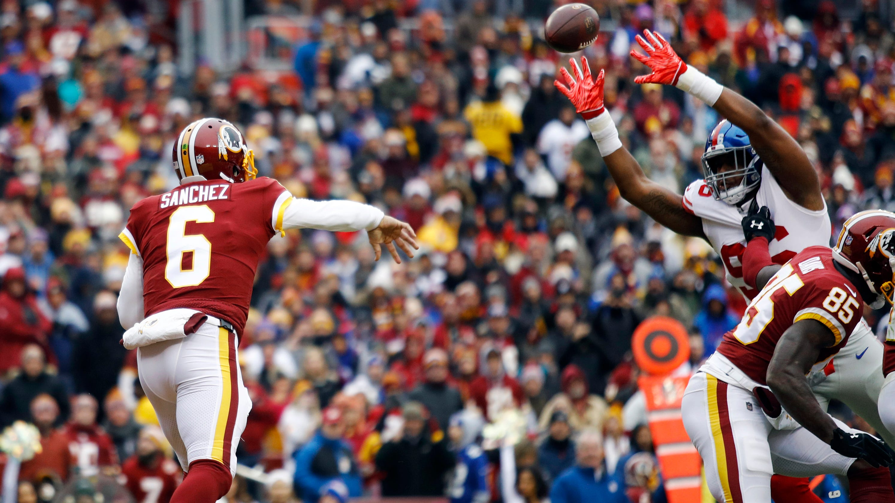 c3fb78014 Washington Redskins will start Josh Johnson ahead of Mark Sanchez