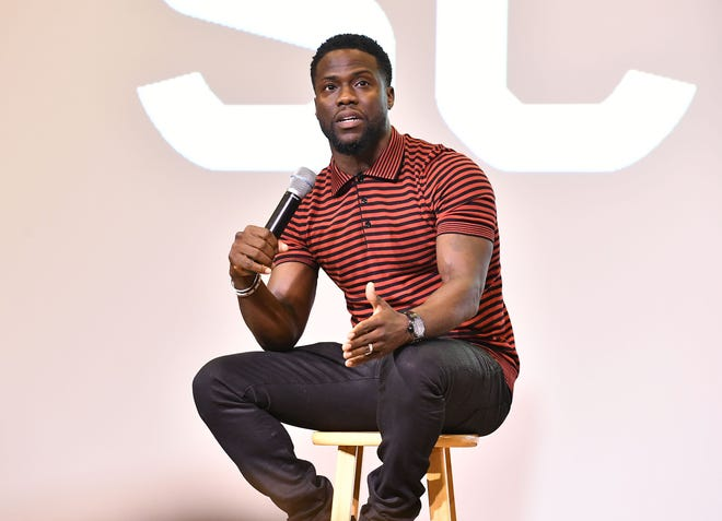 Kevin Hart in Atlanta, Georgia, on Sept. 11, 2018