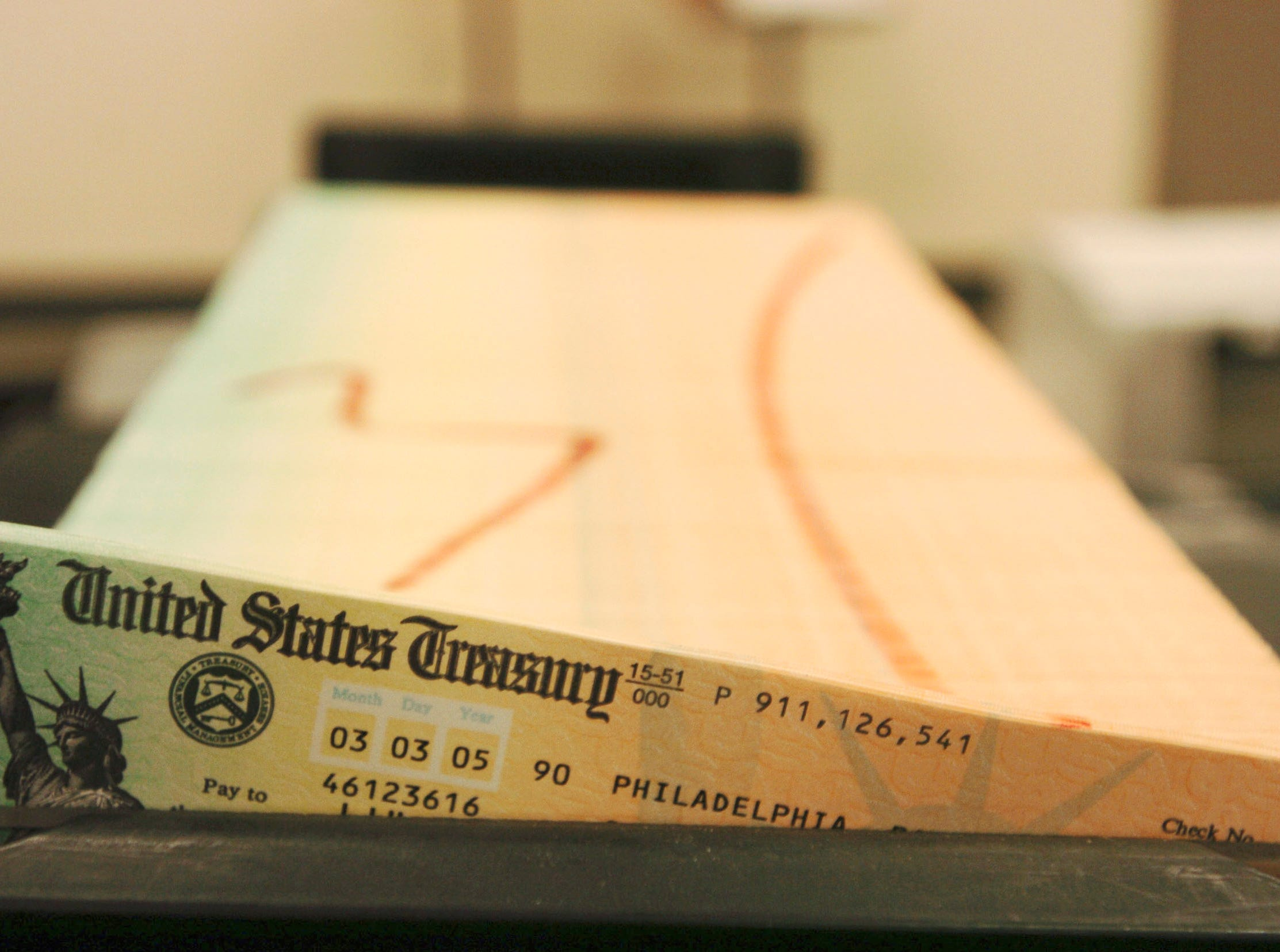 Social Security notices showing cost-of-living increases available online for retirees