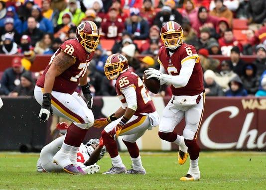 Nfl New York Giants At Washington Redskins