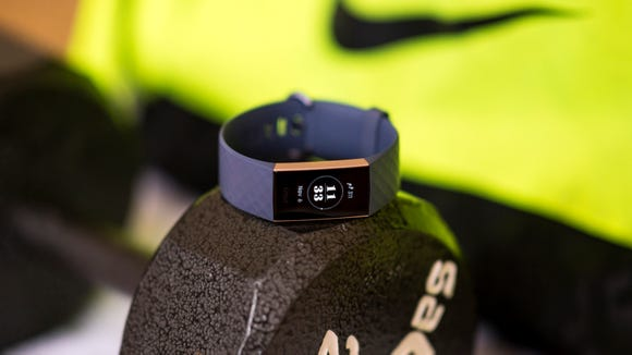 This gorgeous fitness tracker is fully waterproof and has a killer battery life.